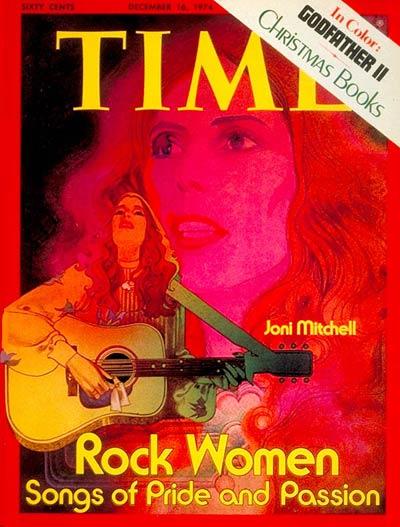 Joni Mitchell (Dec. 16, 1974)