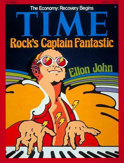 Elton John (July 7, 1975)
