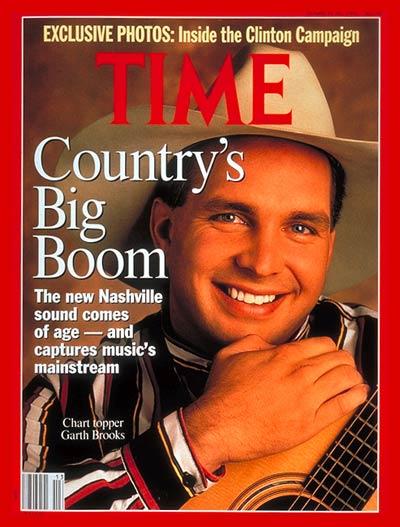 Garth Brooks (March 30, 1992)