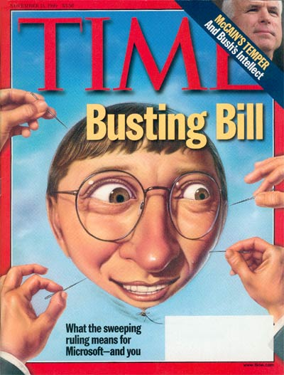 The Nov. 15, 1999, cover of TIME
