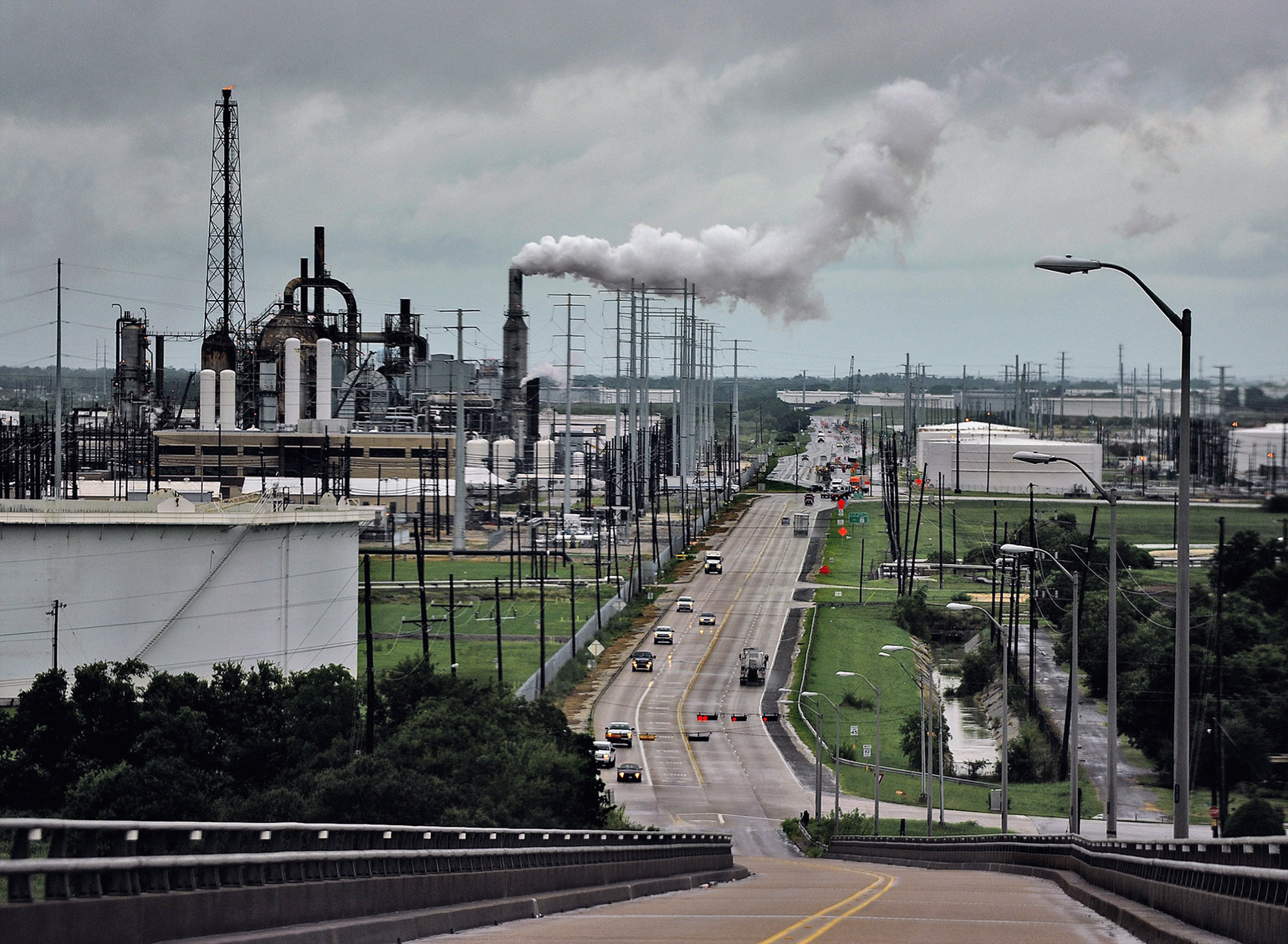 A refinery in Port Arthur, Texas, is ready for the Keystone pipeline.
