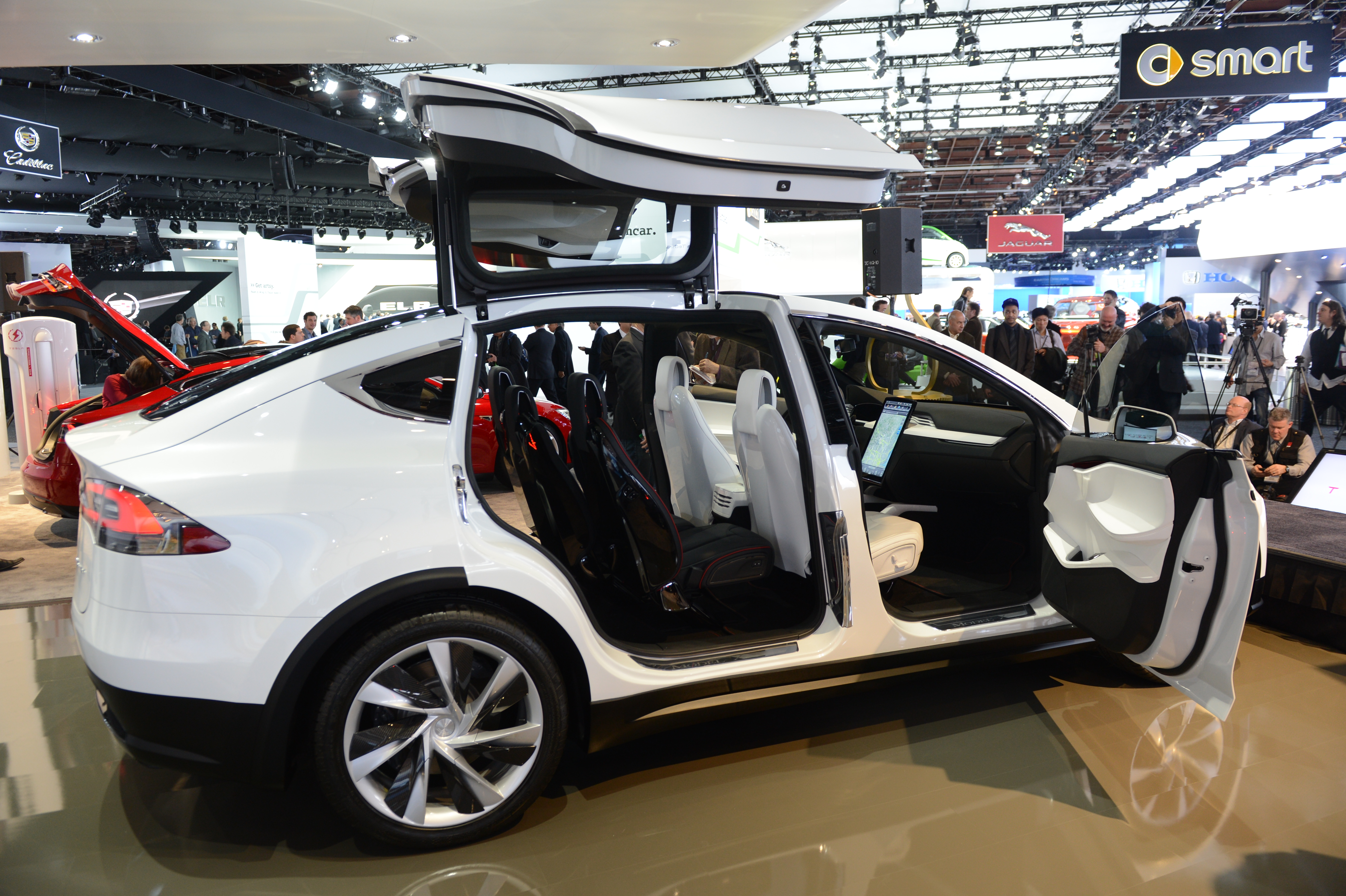 The Tesla Model X is introduced at the 2013 North American International Auto Show .