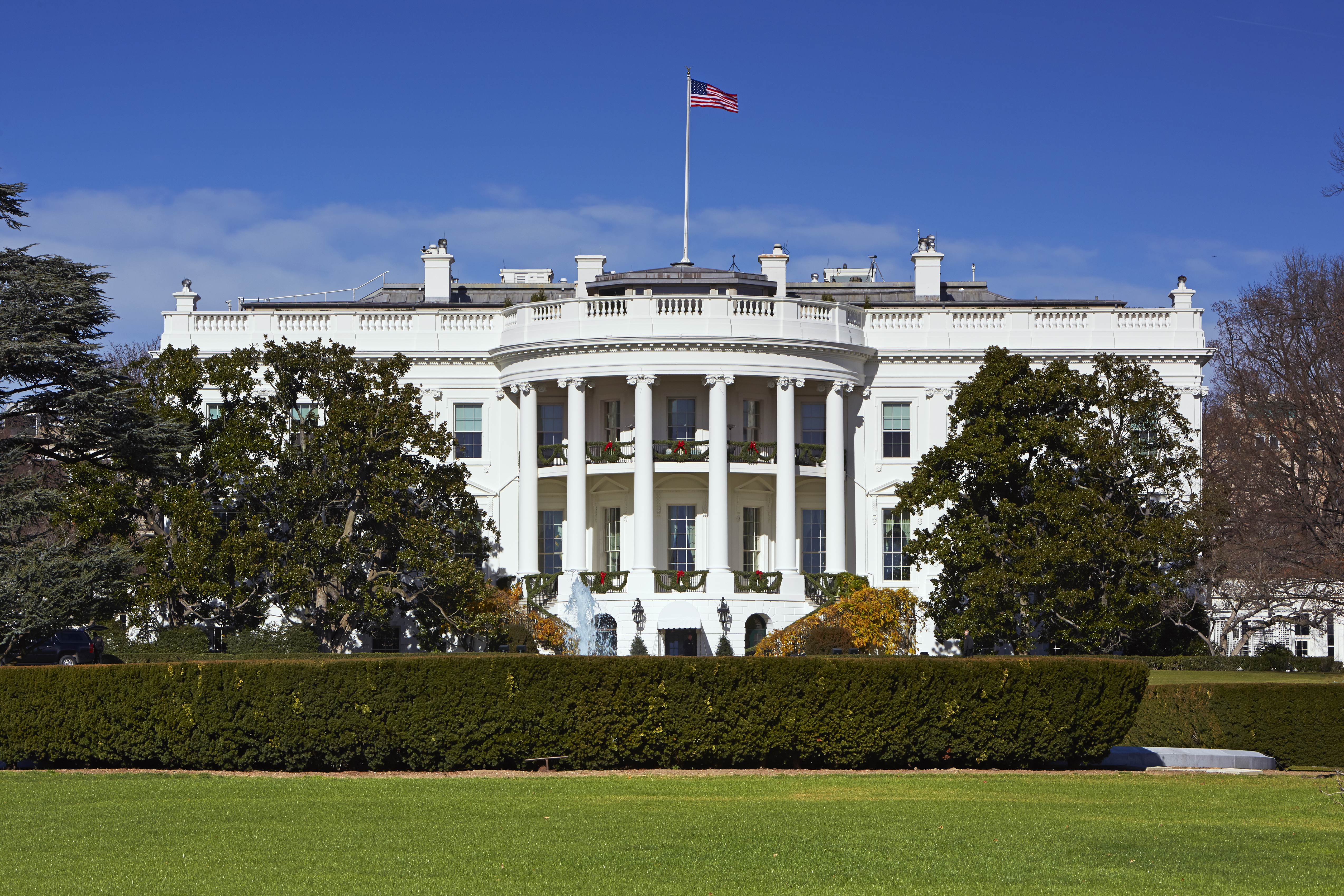 White House at midday