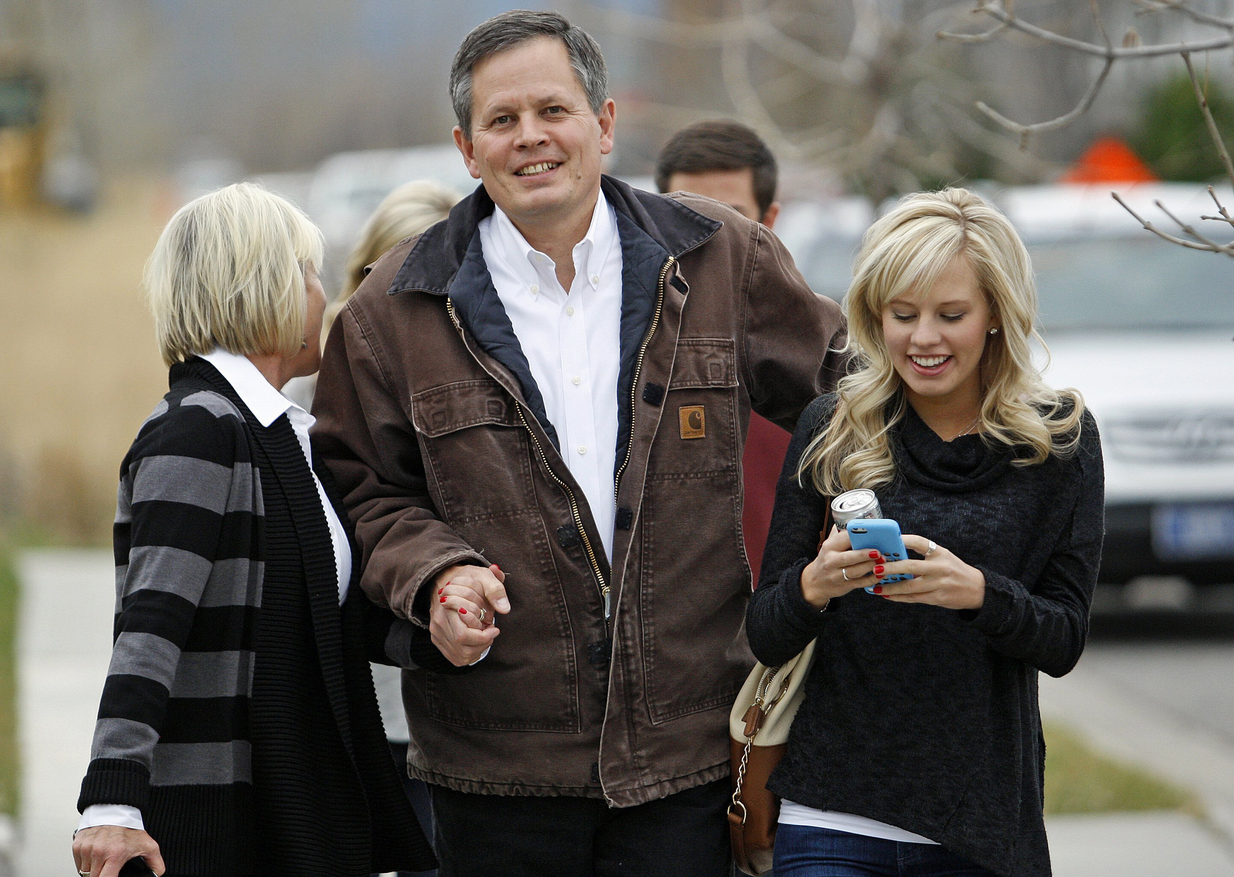 <b>Steve Daines</b>A businessman with Procter &amp; Gamble for 13 years, Daines became a member of the House of Representatives in 2013.
