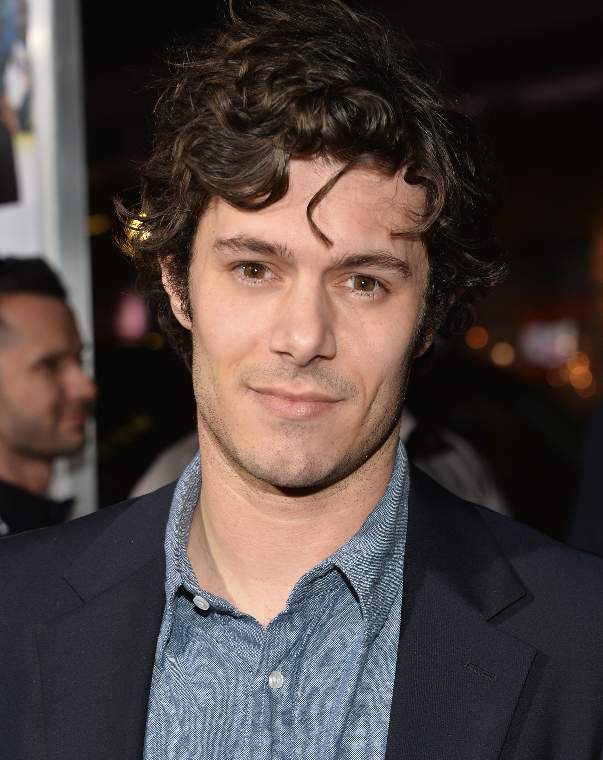 Actor Adam Brody attends the premiere of Fox Searchlight Pictures'  Baggage Claim  at Regal Cinemas L.A. Live on September 25, 2013 in Los Angeles, California.
