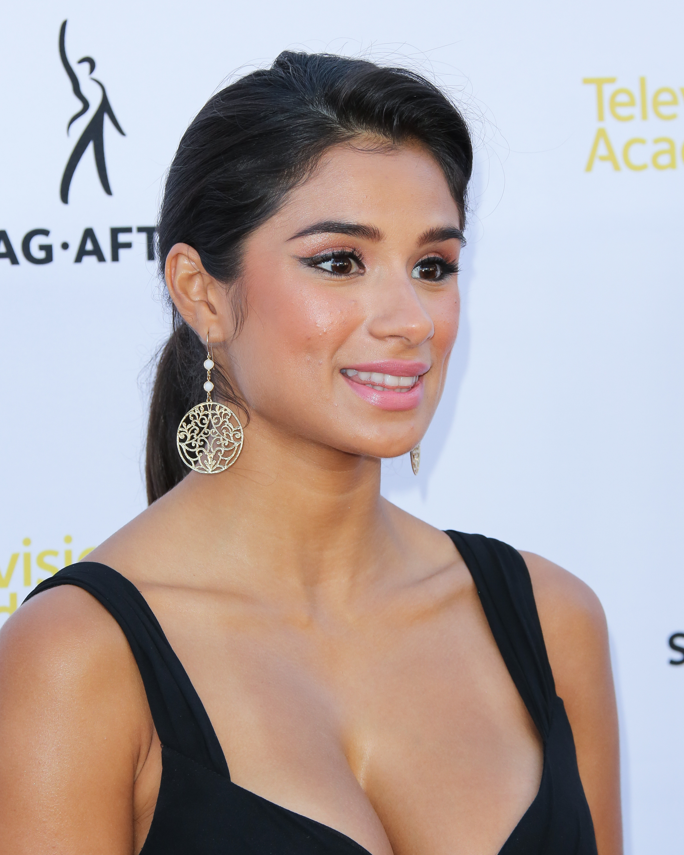Actress Diane Guerrero attends the Television Academy and SAG-AFTRA's presentation of Dynamic and Diverse: A 66th Emmy Awards celebration of Diversity on August 12, 2014 in North Hollywood, California.  (Paul Archuleta--FilmMagic)