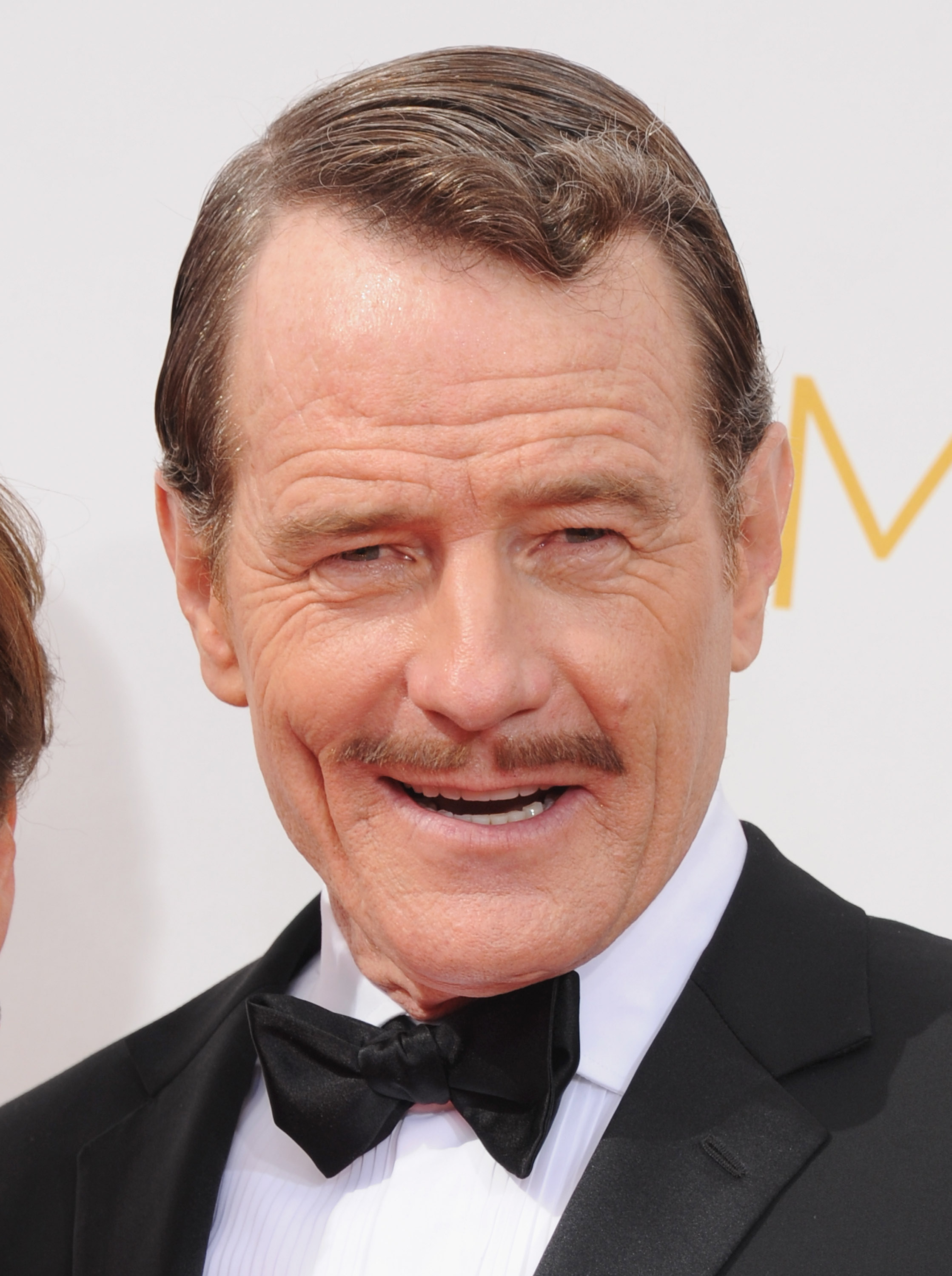 Actor Bryan Cranston arrives at the 66th Annual Primetime Emmy Awards