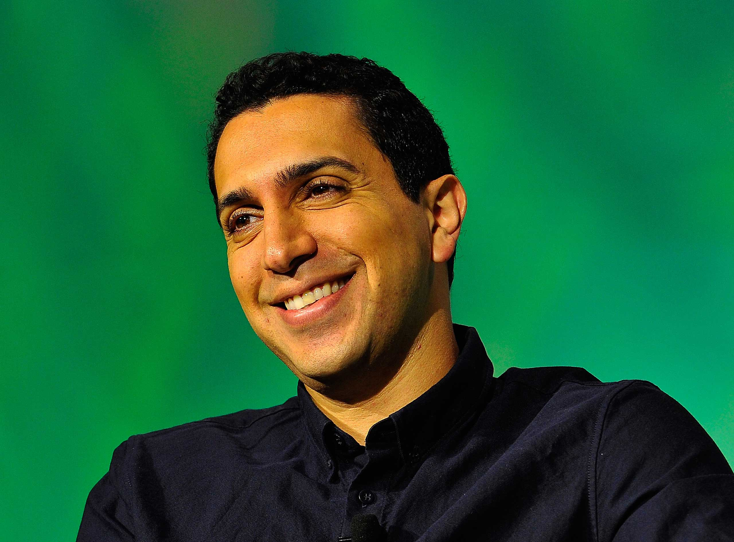 Tinder Co-Founder and CEO Sean Rad speaks onstage at TechCrunch Disrupt at Pier 48 on Sept. 10, 2014 in San Francisco.