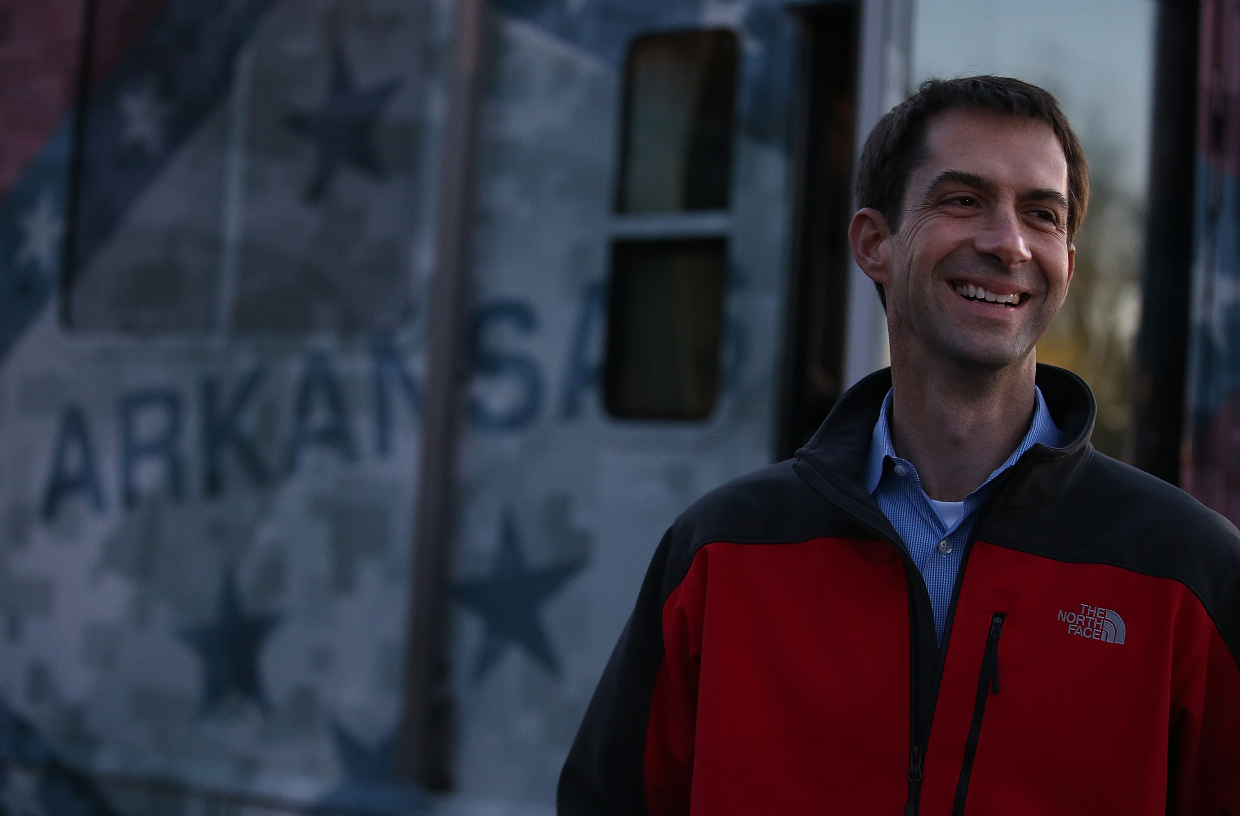 <b>Tom Cotton</b>A U.S. Army Veteran and lawyer, Cotton has served as Representative for Arkansas's 4th district since 2012 and now moves on to the Senate.