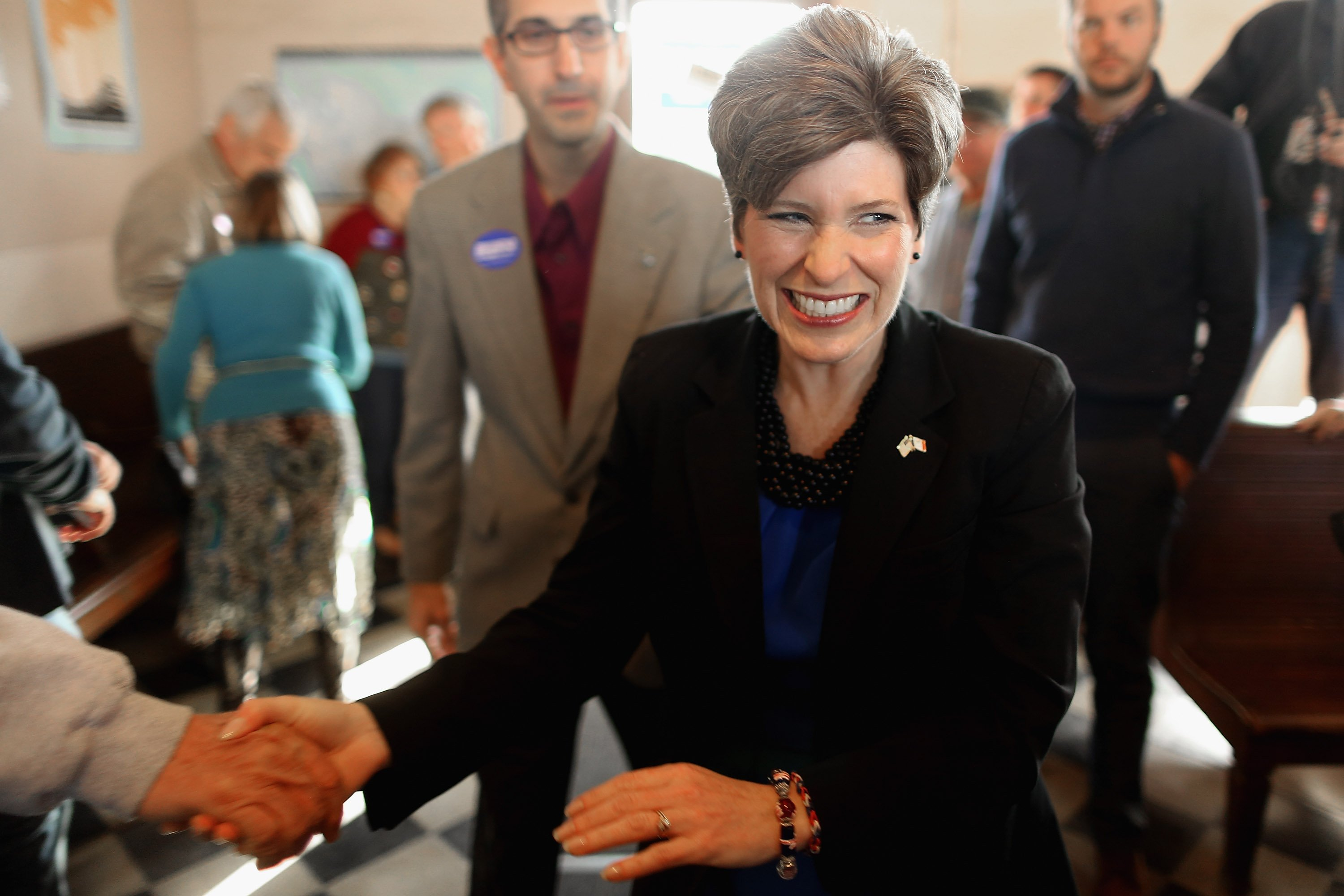 <b>Joni Ernst</b>                                   A Lieutenant Colonel of the Iowa Army National Guard, Ernst has served on the Iowa State Senate since 2004.