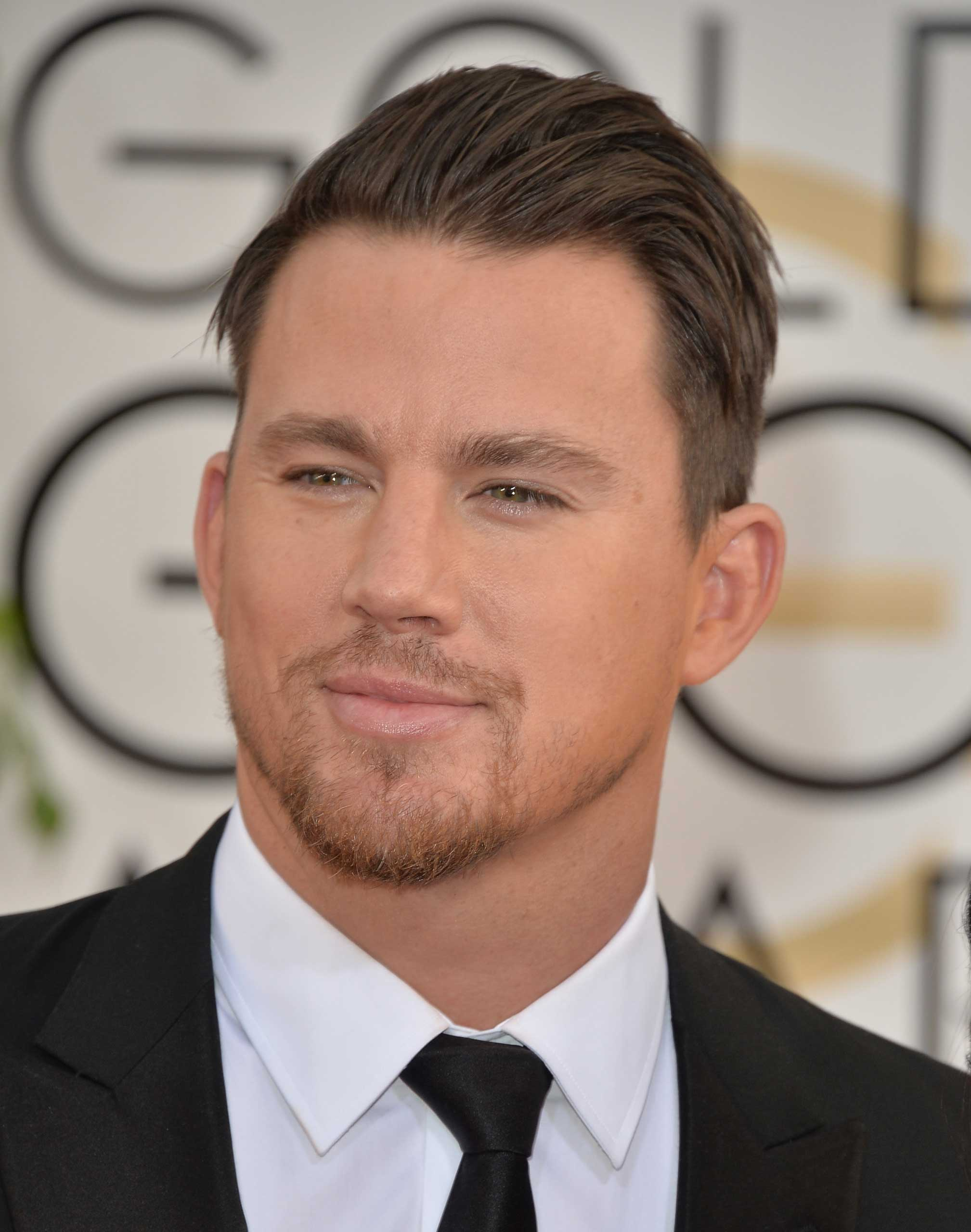 Channing Tatum at the 71st Annual Golden Globe Awards in Beverly Hills, Jan. 12, 2014.
