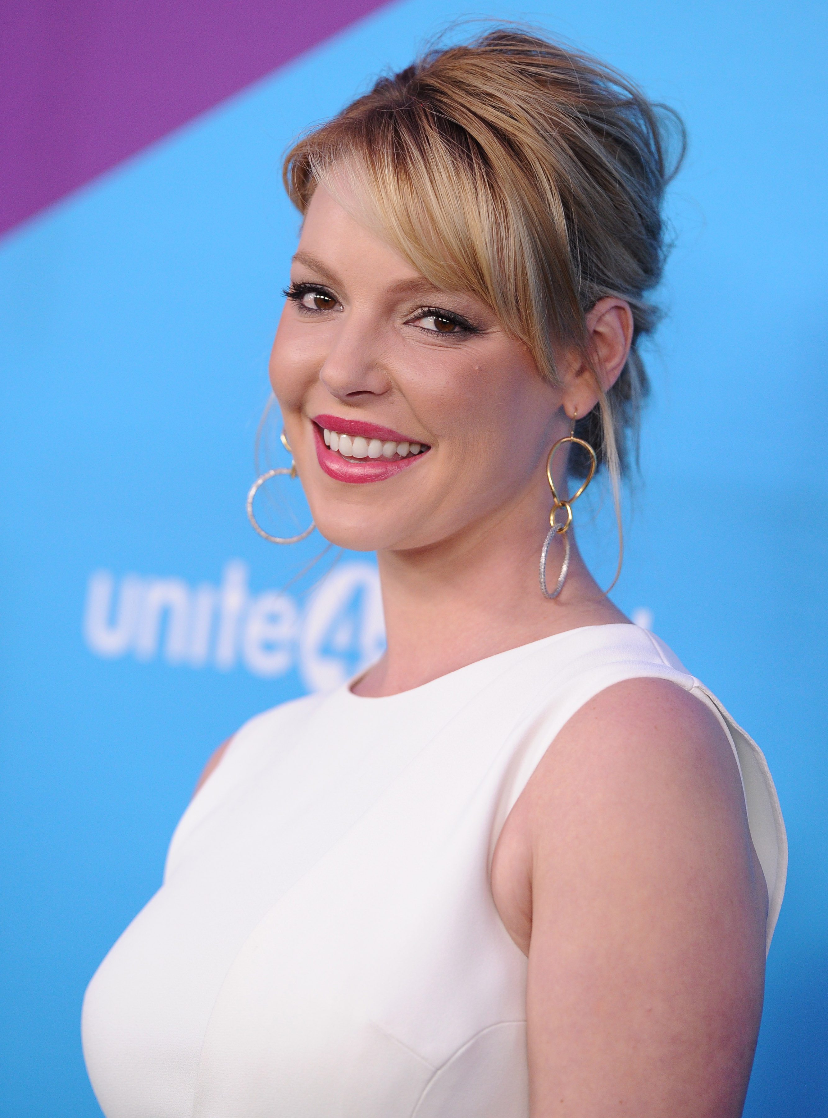 Actress Katherine Heigl arrives at an event hosted by unite4:good and Variety in Los Angeles on Feb. 27, 2014