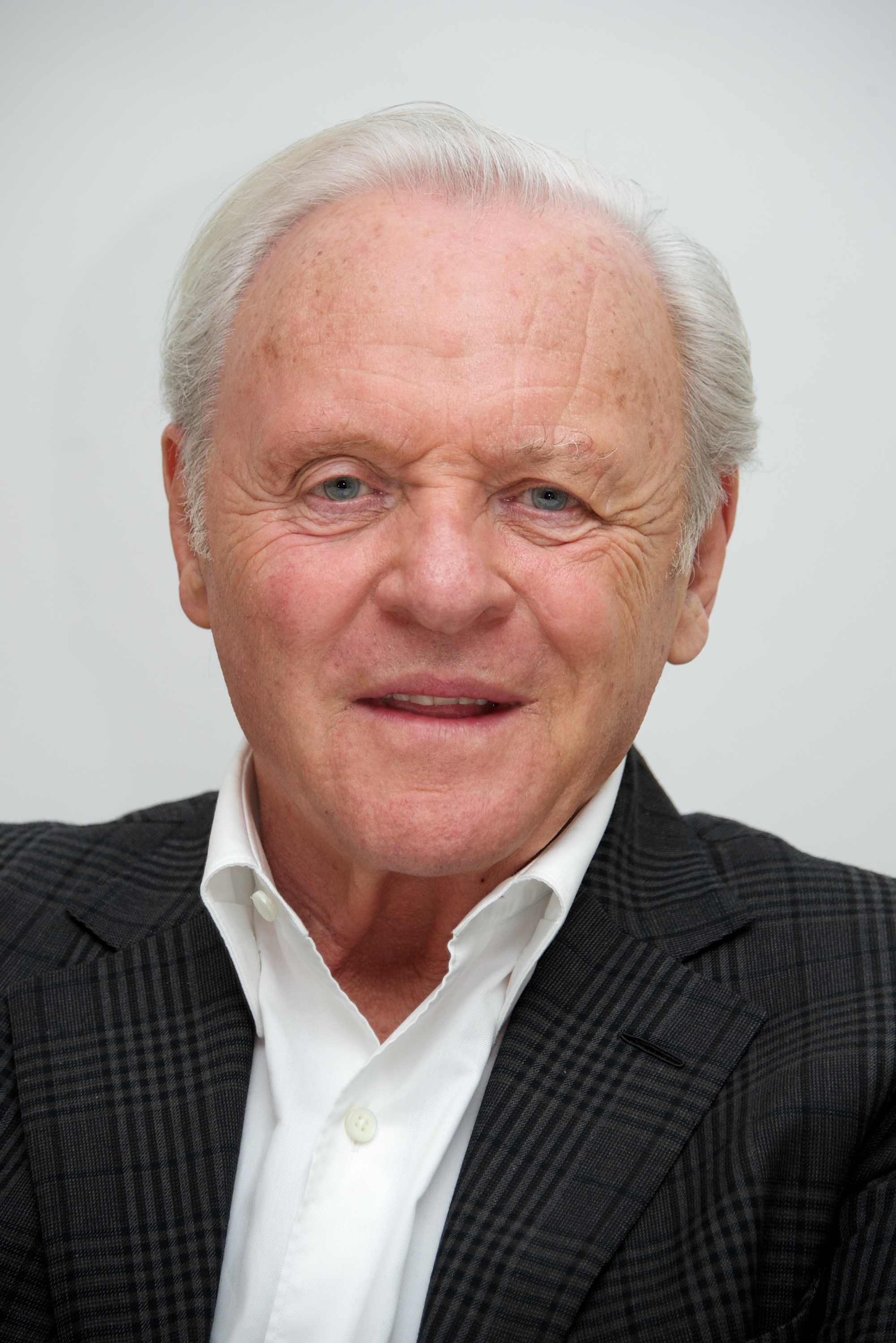 Anthony Hopkins at the  Noah  Press Conference at the Four Seasons Hotel on March 24, 2014 in Beverly Hills.