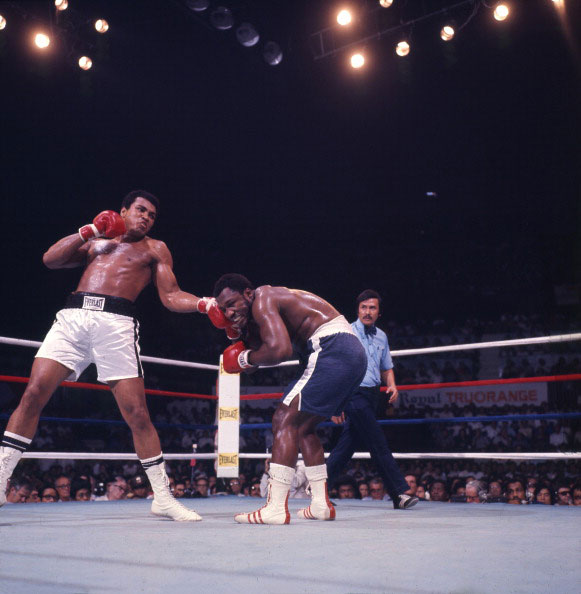 Four years later in October 1975, Ali and Frazier would face off for a third and final time in the Philippines in the fight that became known as  Thrilla in Manila .