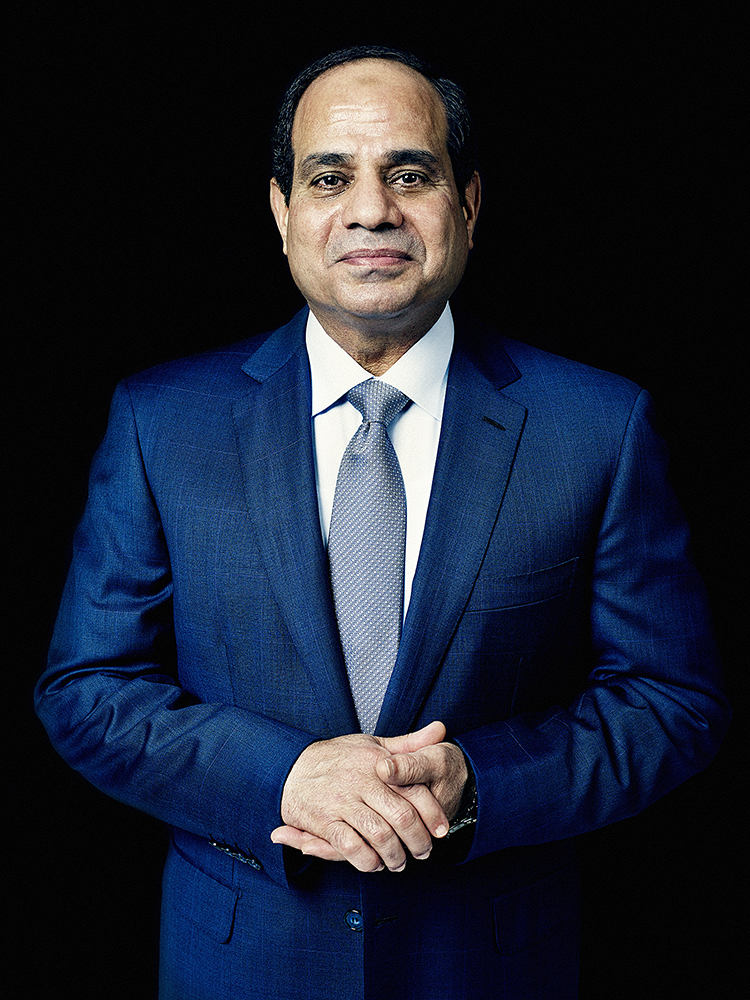 Egyptian President Abdul Fattah al-Sisi. From  After the Revolution.  October 6, 2014 issue.