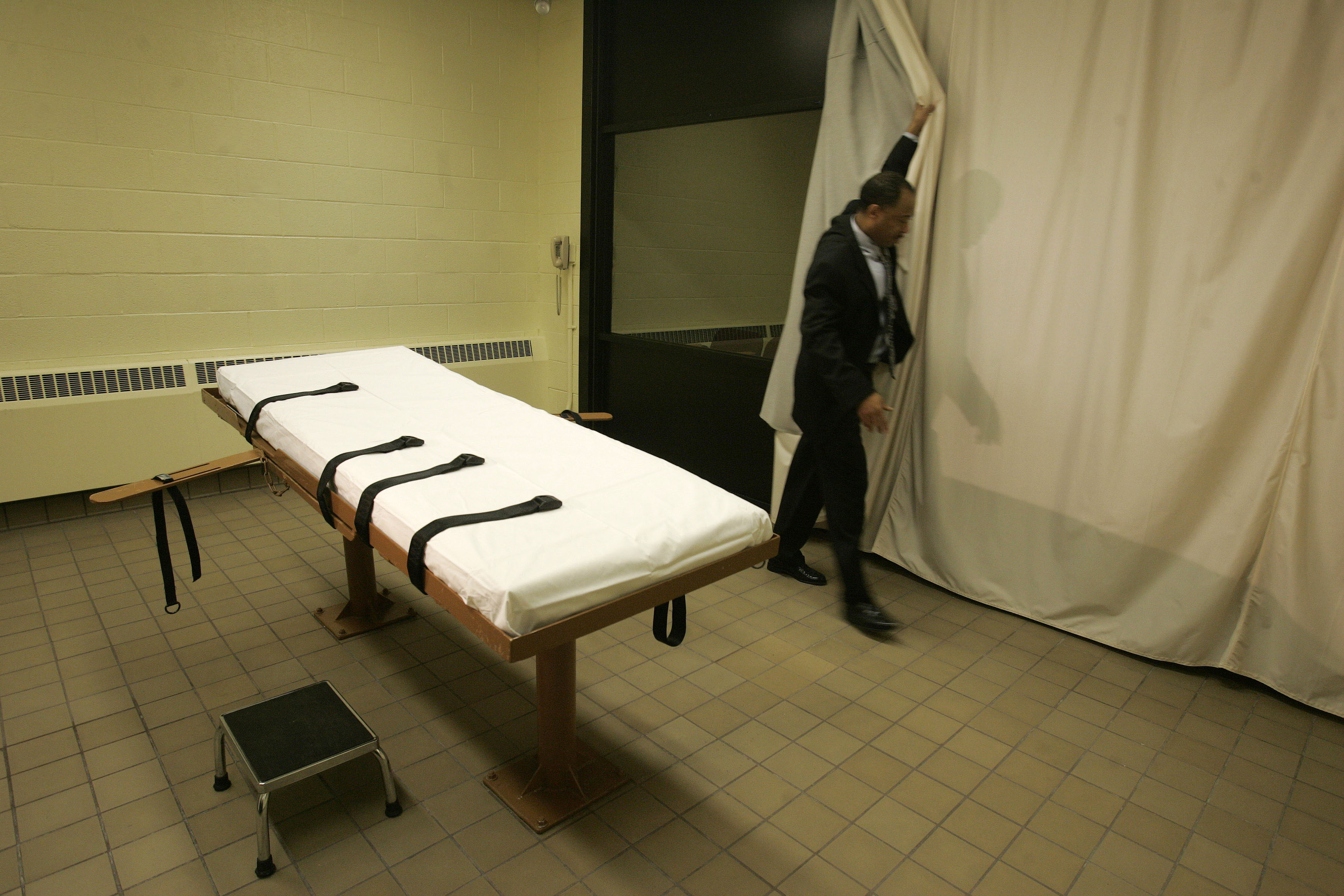 Ohio legislators are looking to shield the identity of drugmakers for lethal injections, which are performed in the execution chamber in the Southern Ohio Correctional Facility in Lucasville, Ohio.