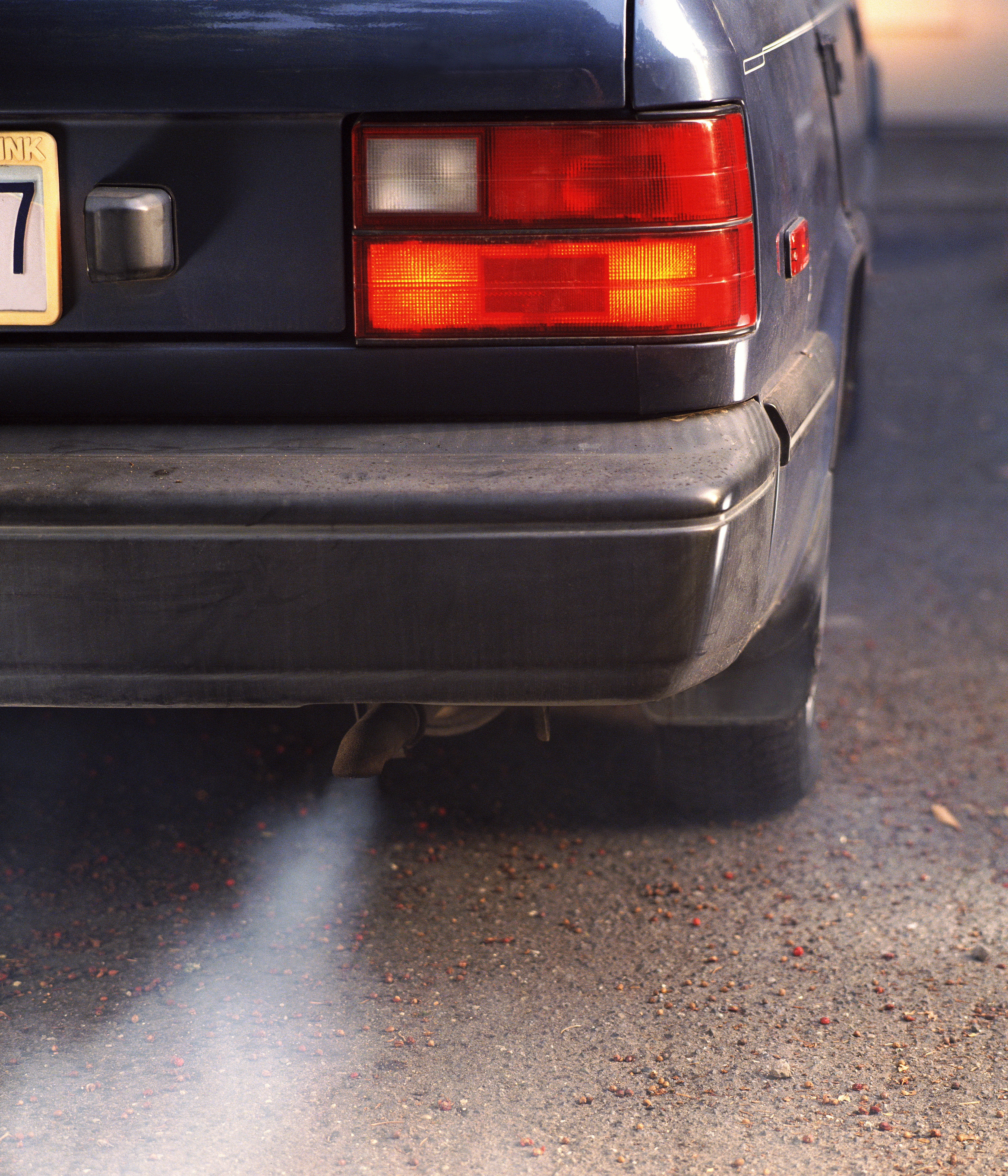Heavy traffic can pollute the air with compounds that can contribute to ADHD