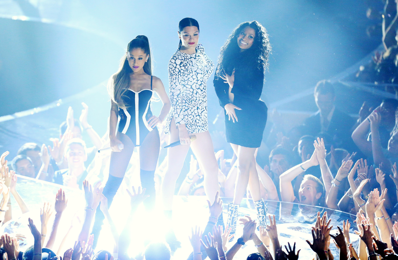 Ariana Grande, Jessie J, Nicki Minaj