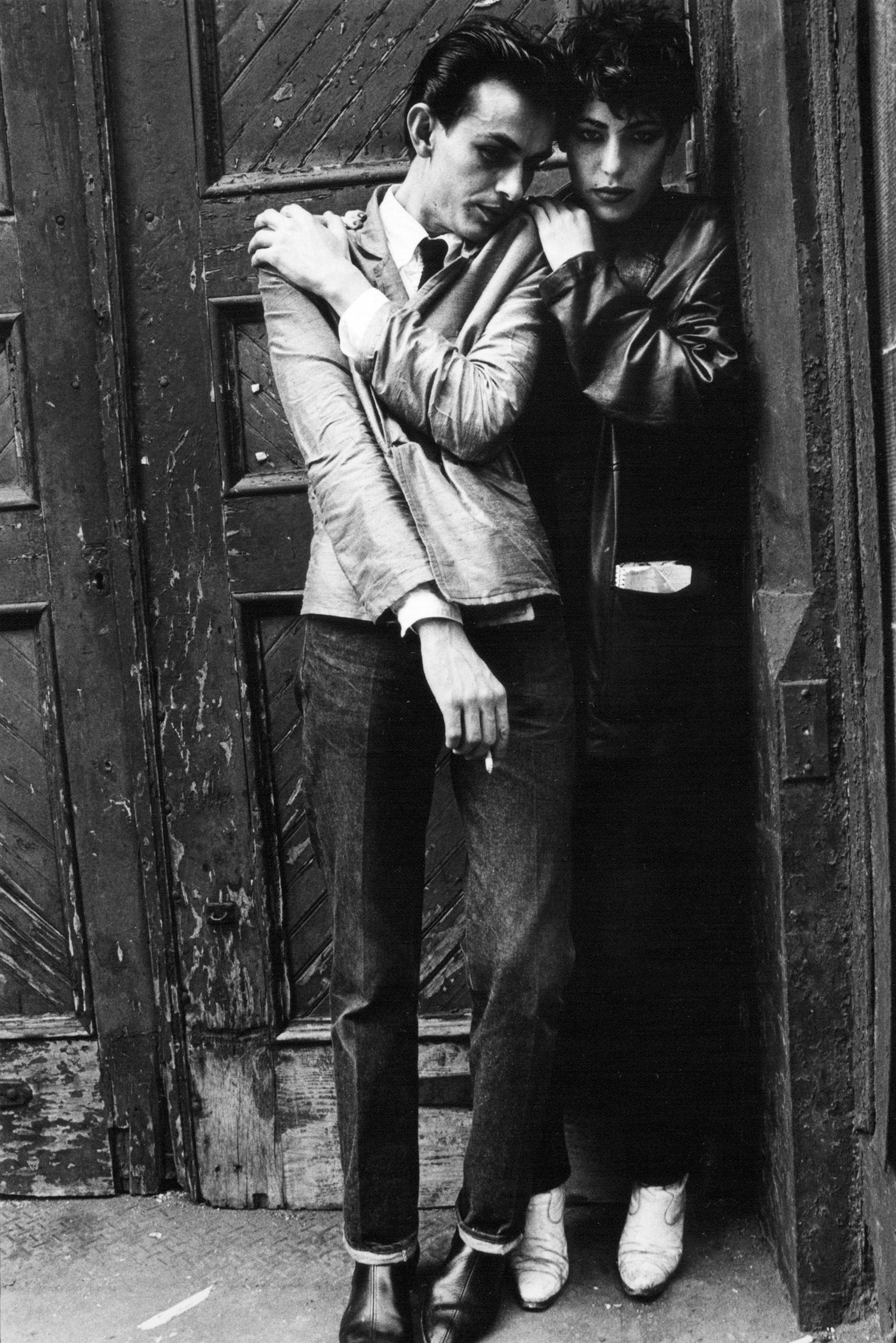Doorway in SoHo, 1980