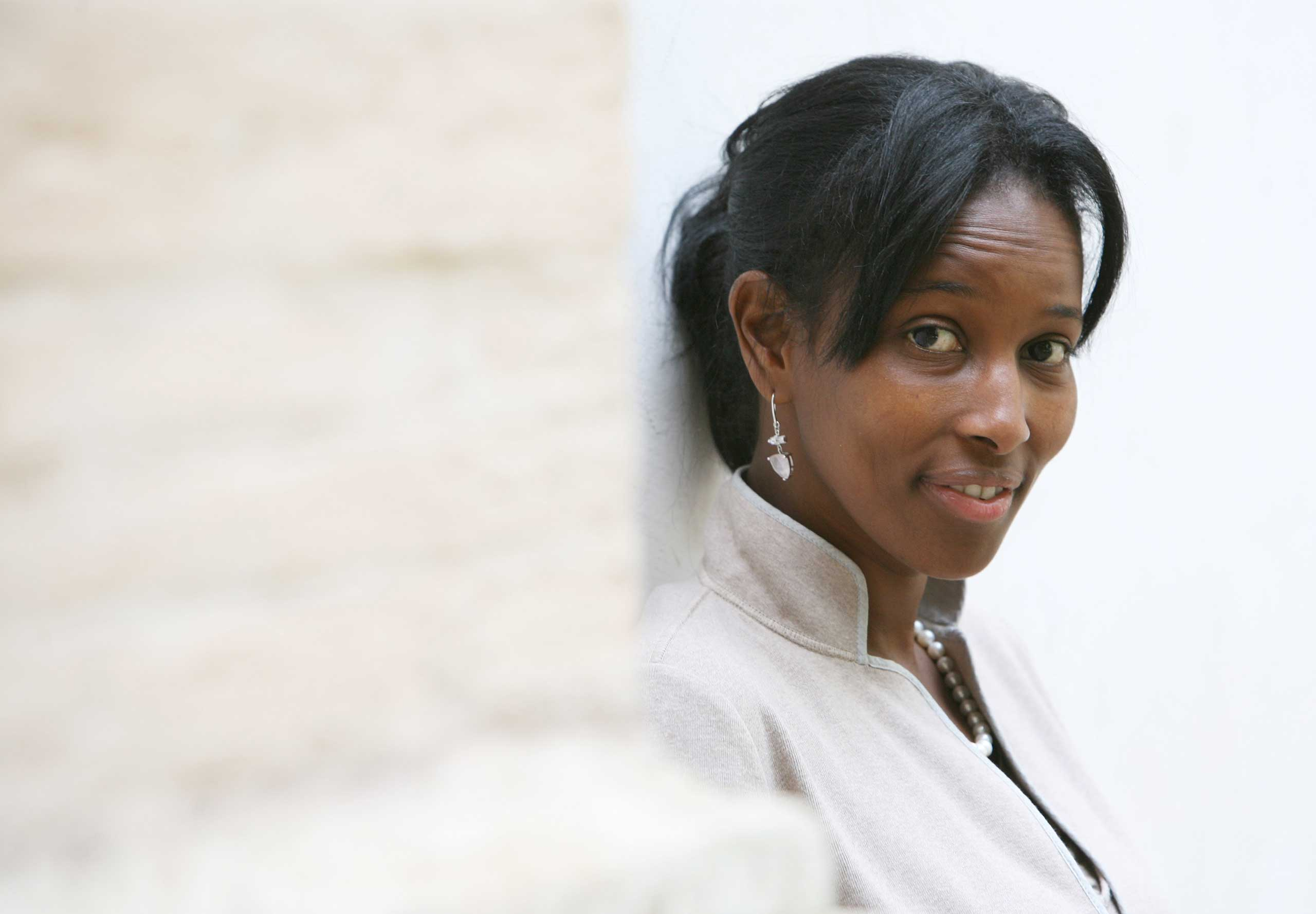 Somalian author Ayaan Hirsi Ali, former member of the Dutch parliament, in Rome in 2008.