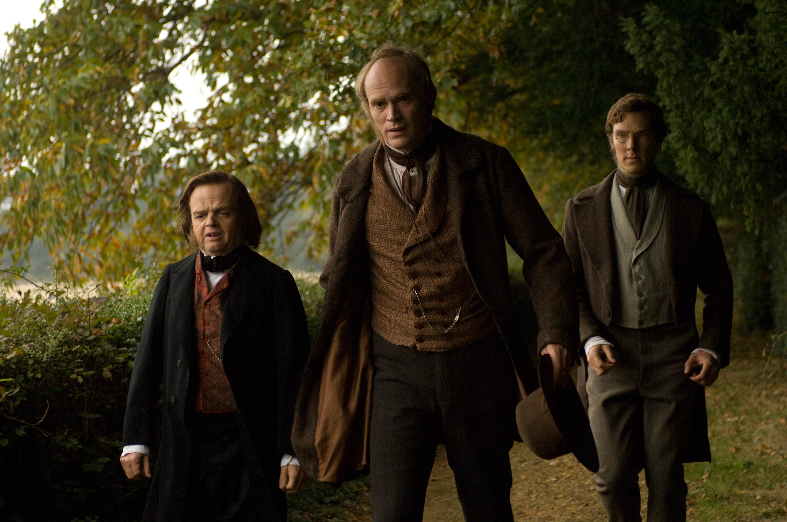 <strong>Creation</strong> Cumberbatch (right) played Joseph Dalton Hooker, an esteemed British botanist and close friend of Charles Darwin (Paul Bettany), in this 2009 British film about Darwin.