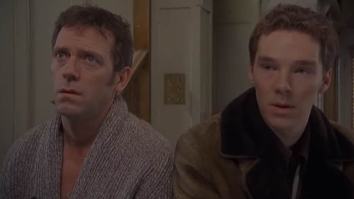 <strong>Fortysomething</strong> Cumberbatch plays Rory, the son of Paul Slippery (Hugh Laurie), in this six episode 2003 British comedy television series.
