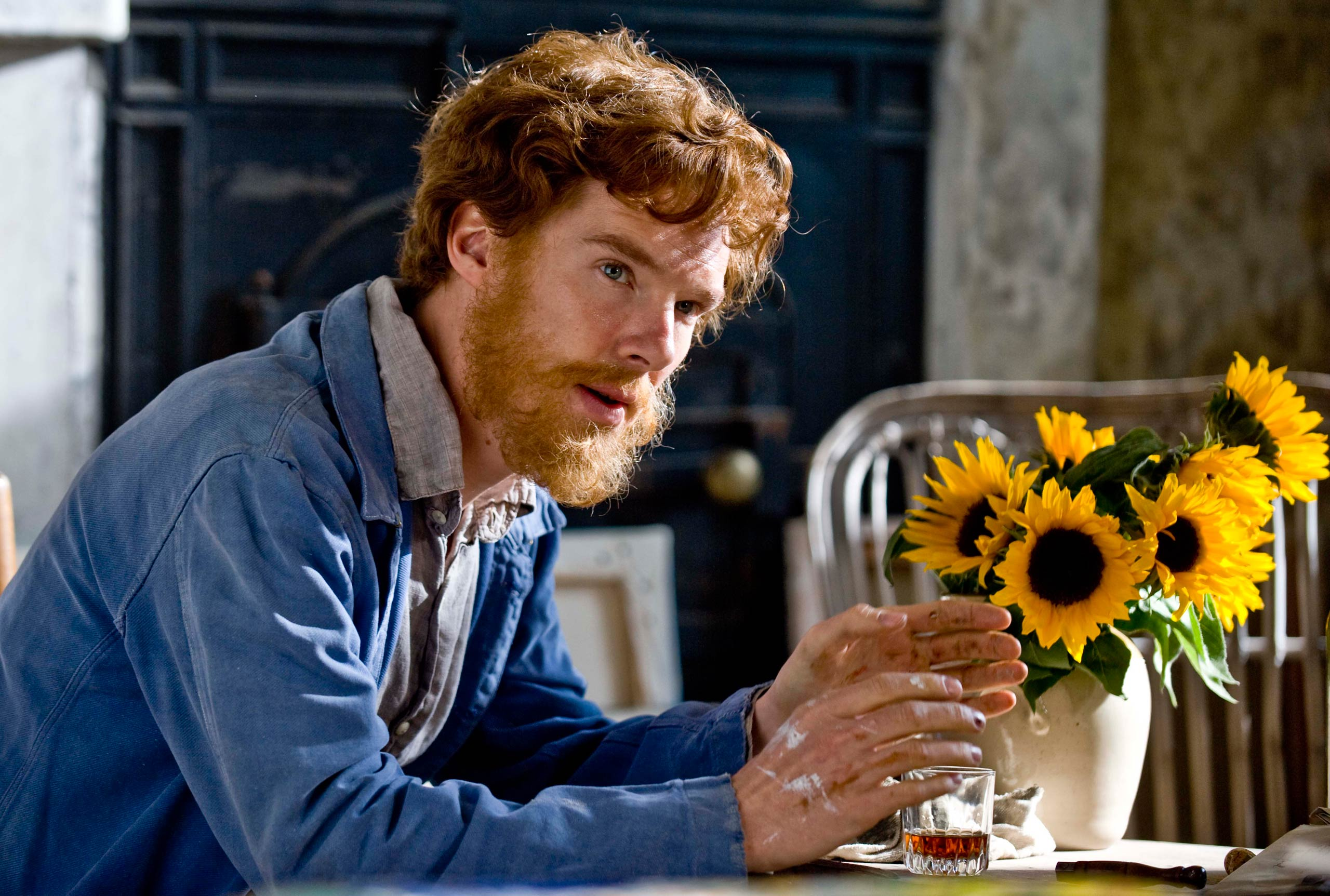 <strong>Van Gogh: Painted with Words</strong> This 2010 docu-drama by the BBC starred Cumberbatch as the tormented Dutch painter Vincent van Gogh.