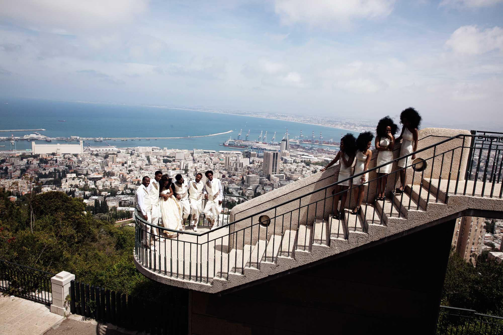 An Eritrean wedding in Haifa, Israel. April 12, 2014