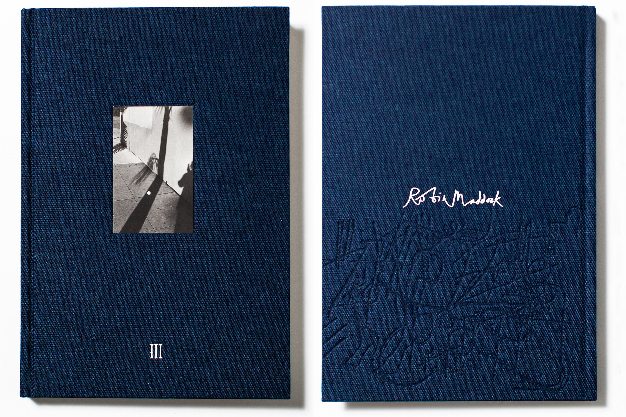III                                by                               Robin Maddock, published by Trolley Books, selected by Jason Fulford, photographer and Publisher of J&L Books.