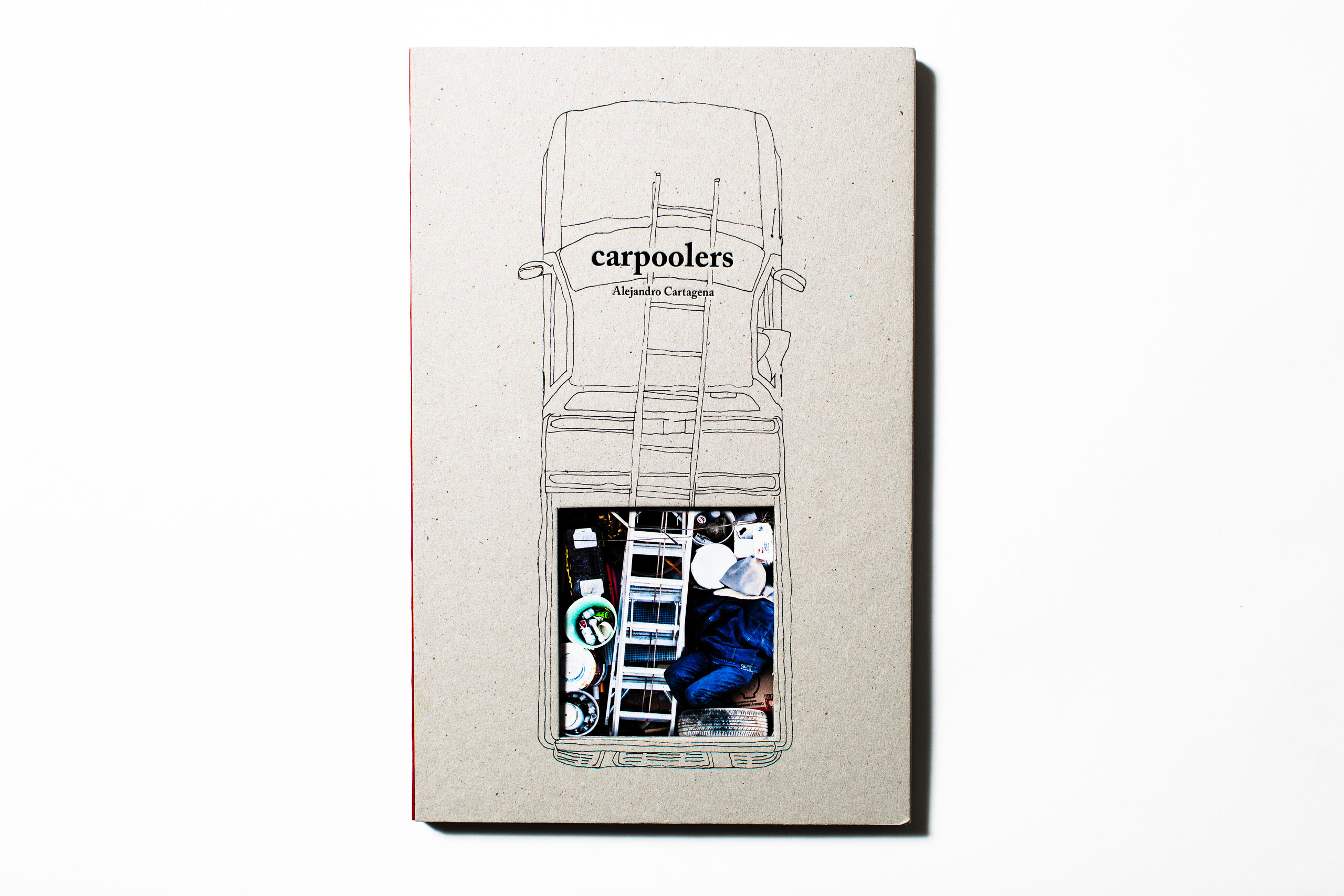 Car poolers                                 by                               Alejandro Cartagena, self-published, selected by Martin Parr, photographer at Magnum Photos.