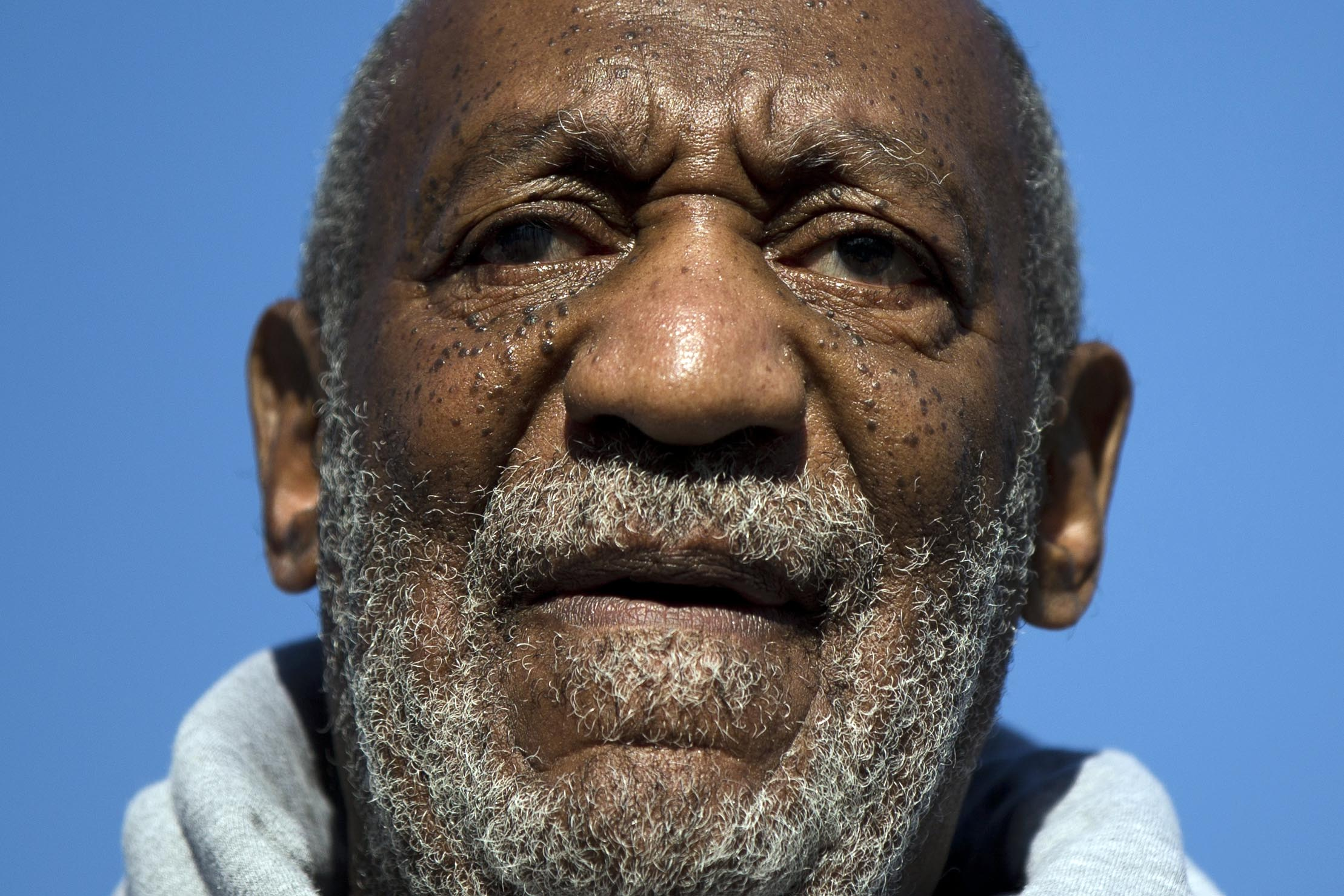 This Nov. 11, 2014, file photo shows entertainer and Navy veteran Bill Cosby speaking during a Veterans Day ceremony, at the The All Wars Memorial to Colored Soldiers and Sailors in Philadelphia.