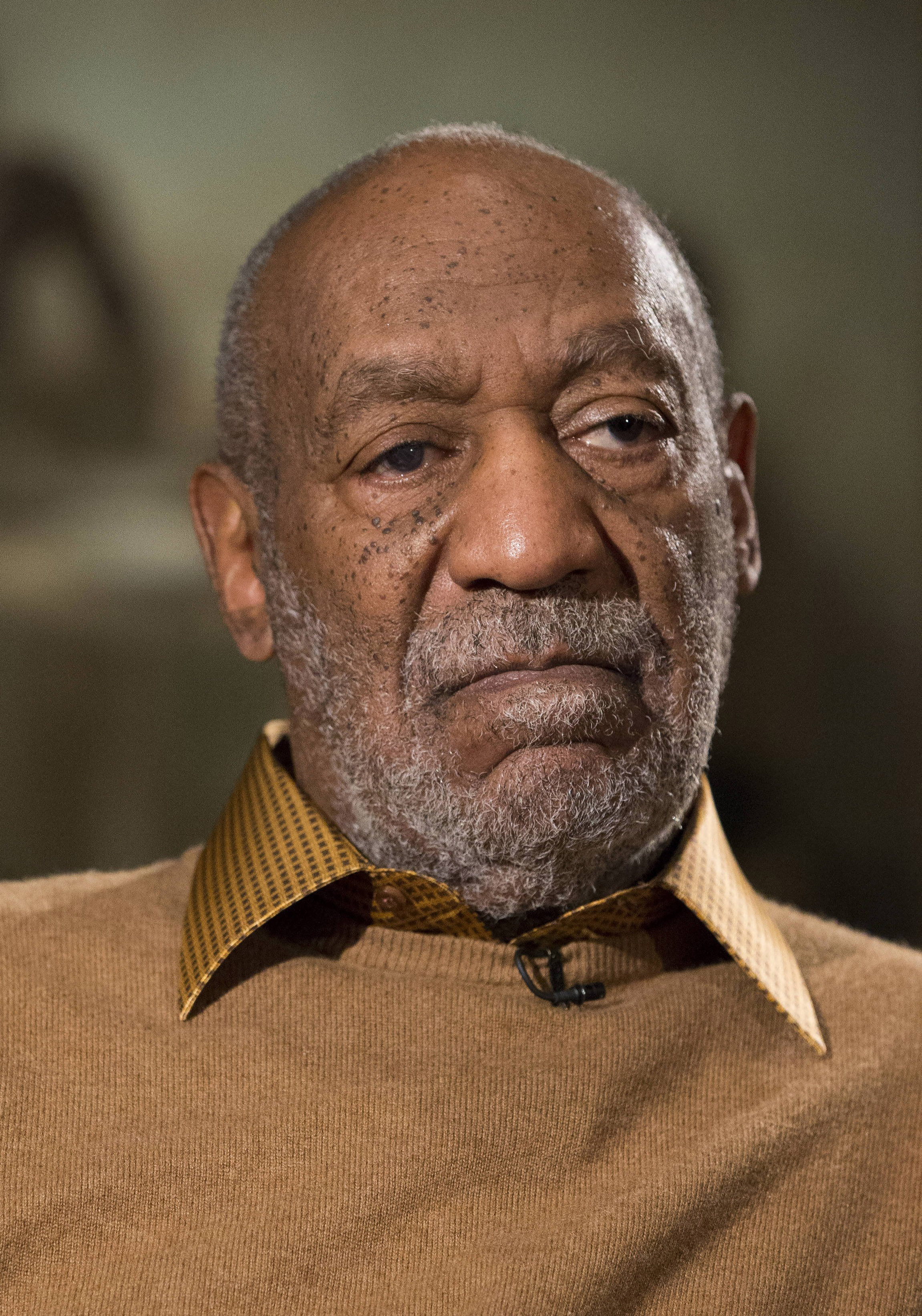 Bill Cosby during an interview about the upcoming exhibit  Conversations: African and African-American Artworks in Dialogue,  at the Smithsonian's National Museum of African Art in Washington D.C. on Nov. 6, 2014