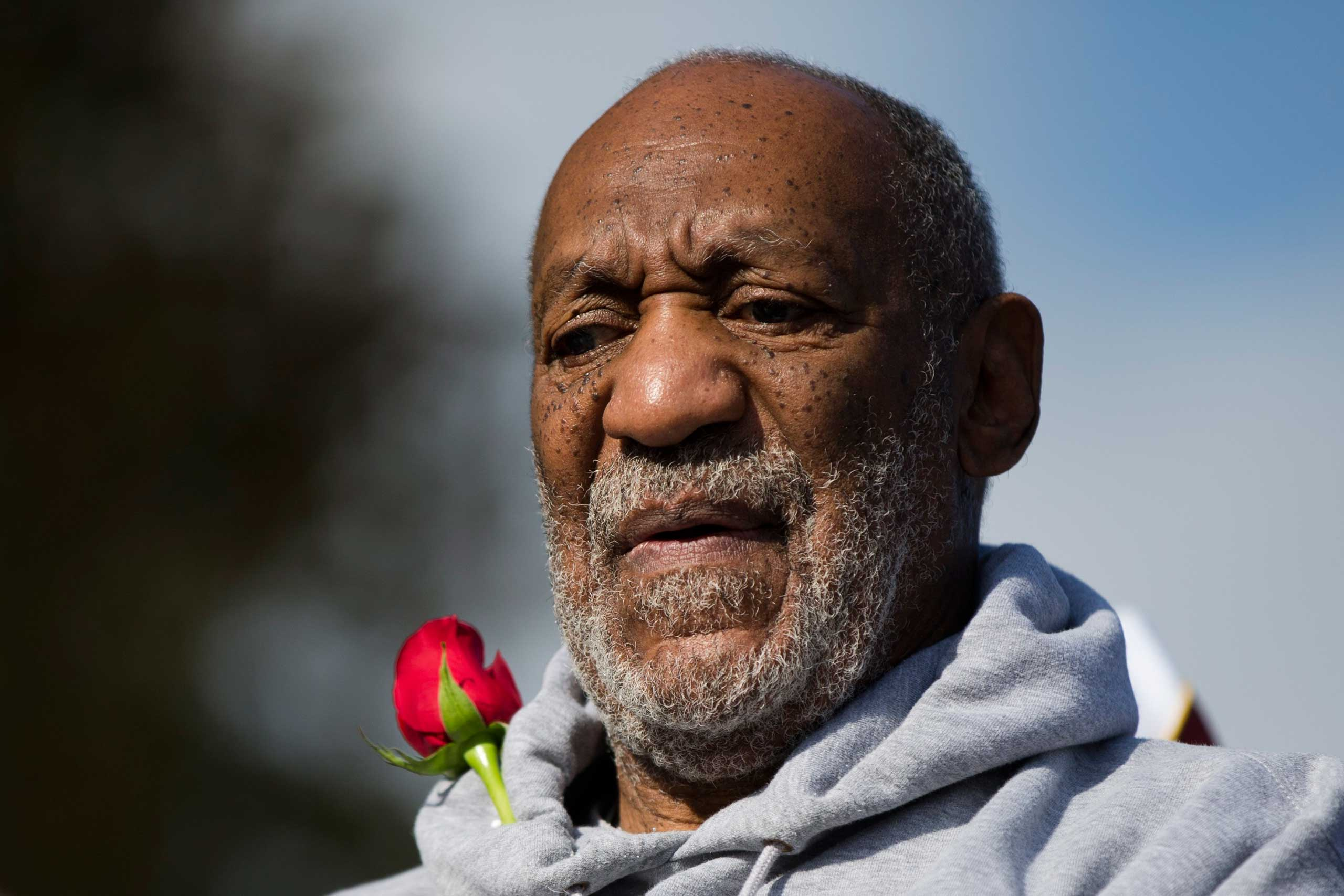 Entertainer and Navy veteran Bill Cosby at a Veterans Day ceremony, Nov. 11, 2014, at the The All Wars Memorial to Colored Soldiers and Sailors in Philadelphia.