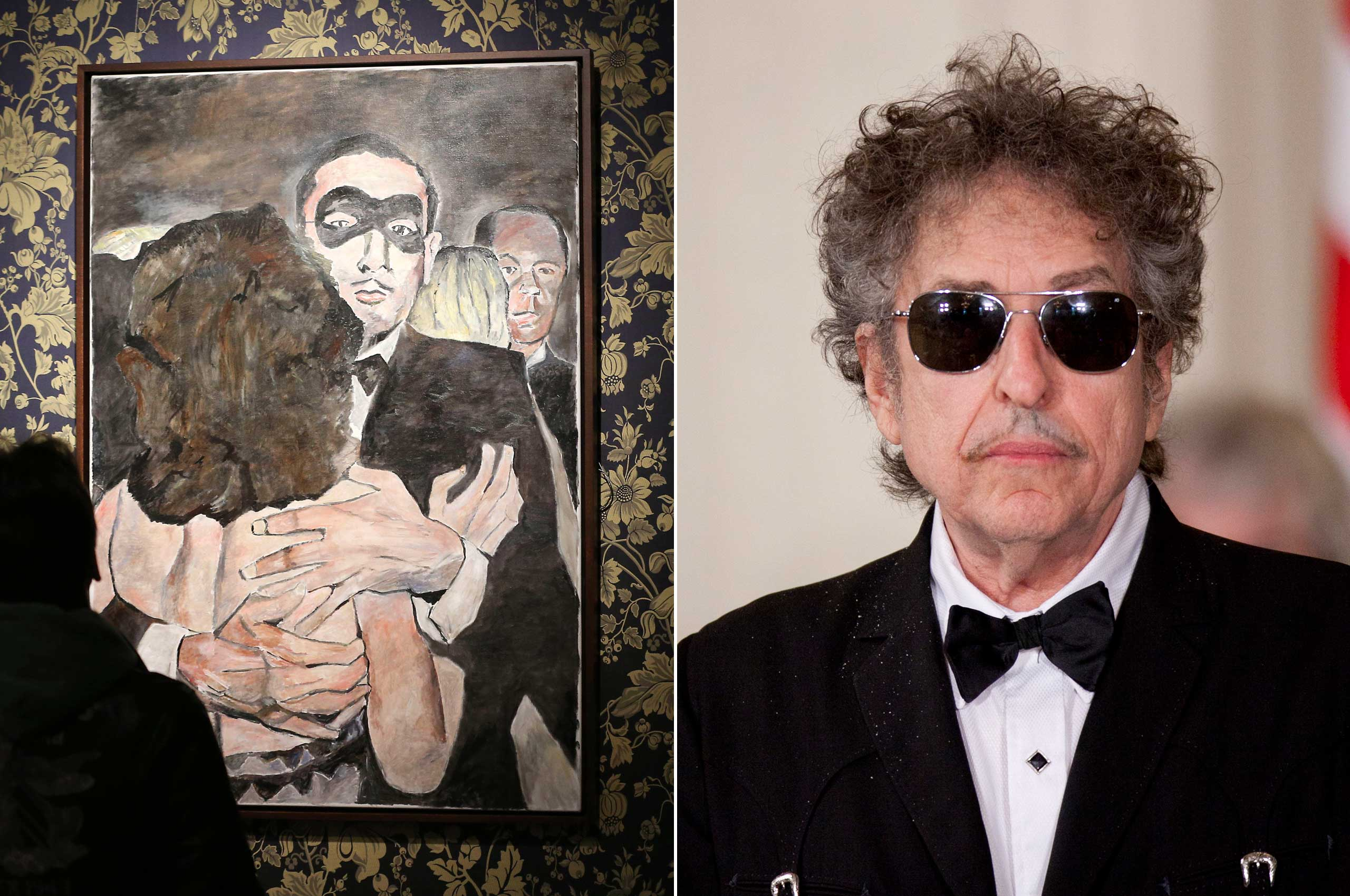 Bob Dylan created  New Orleans Series,  a collection of paintings inspired by the city of New Orleans in the 1940s and '50s.