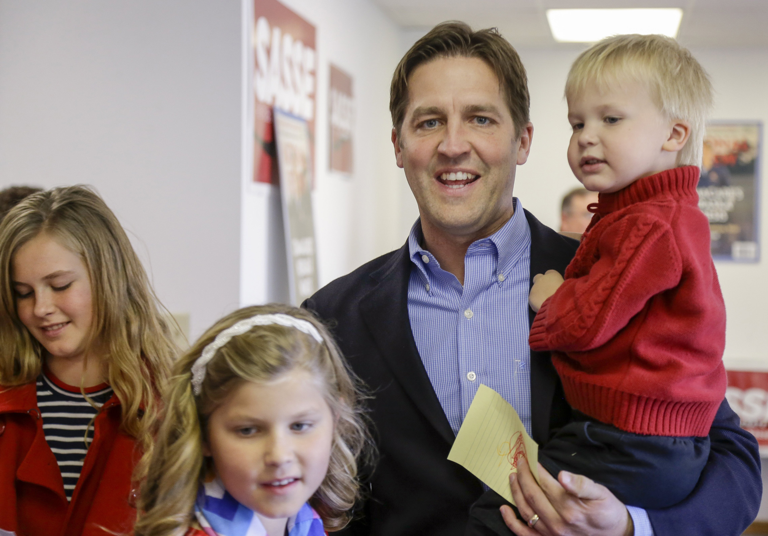 <b>Ben Sasse</b>                                   The President of Midland University in Fremont, Neb., since 2010, Sasse won the Senate seat vacated by Sen. Mike Johanns.