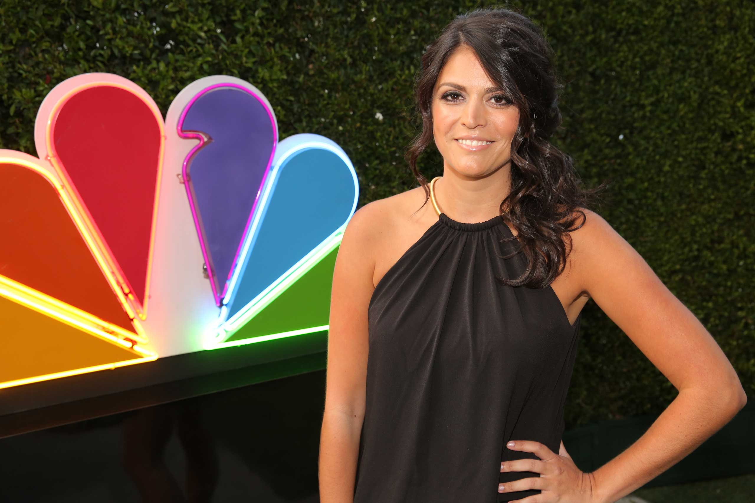 Cecily Strong at Boa Steakhouse, West Hollywood, Aug. 24, 2014.
