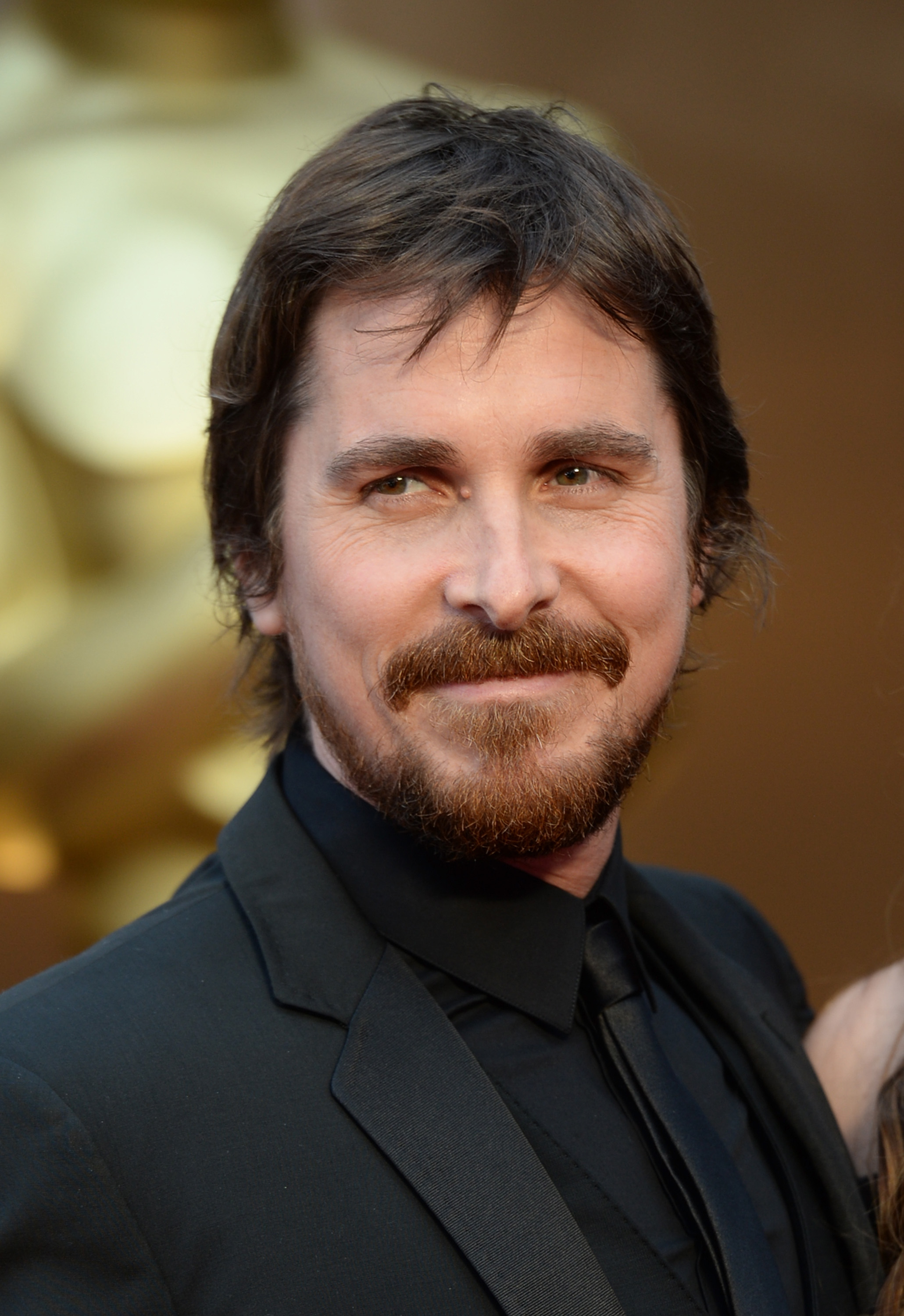 Actor Christian Bale attends the Oscars held at Hollywood and Highland Center on March 2, 2014 in Hollywood.