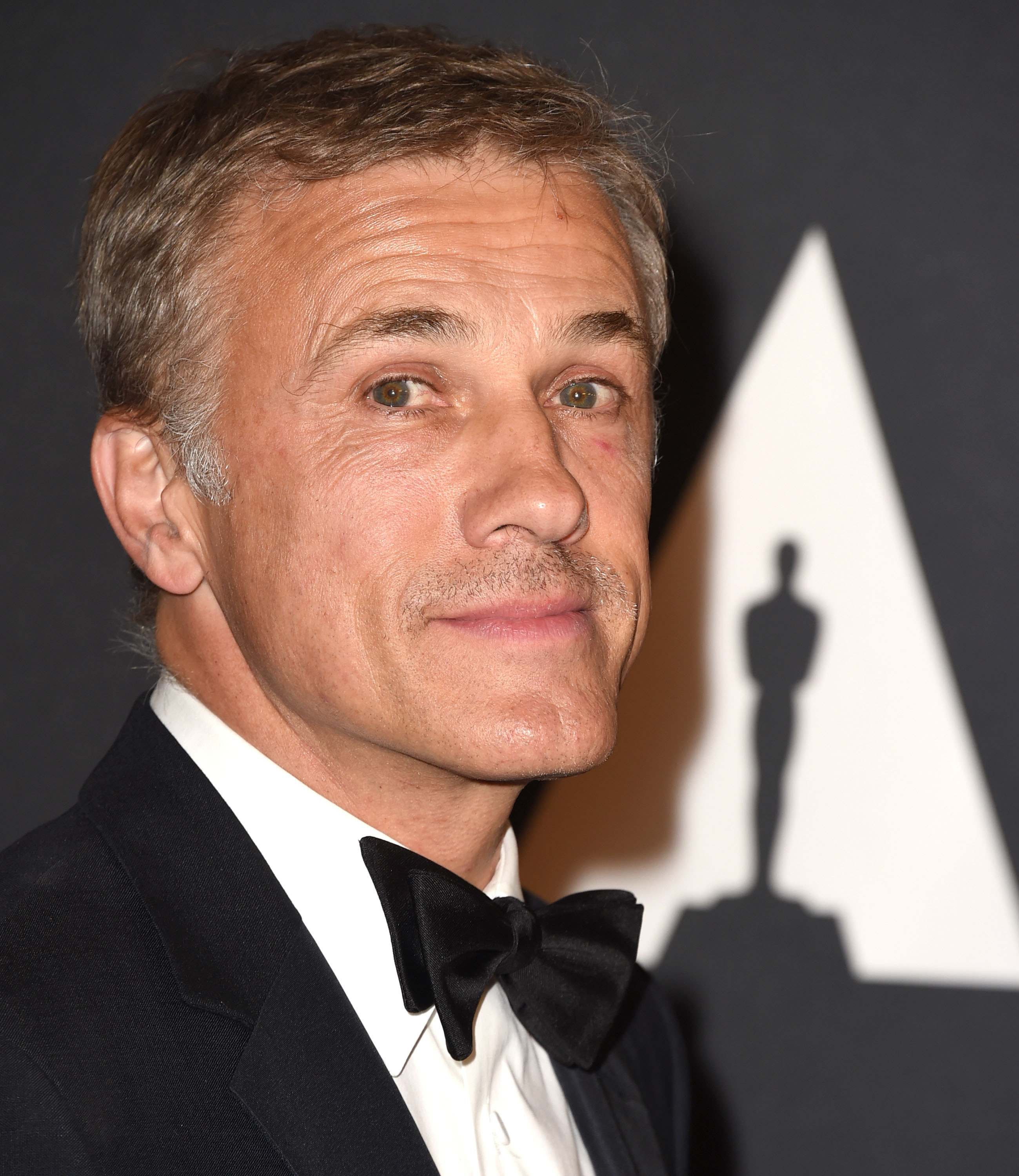 Christoph Waltz arrives at the Motion Picture Academy's 6th Annual Governors Awards at Dolby Theatre on November 8, 2014 in Hollywood, California.