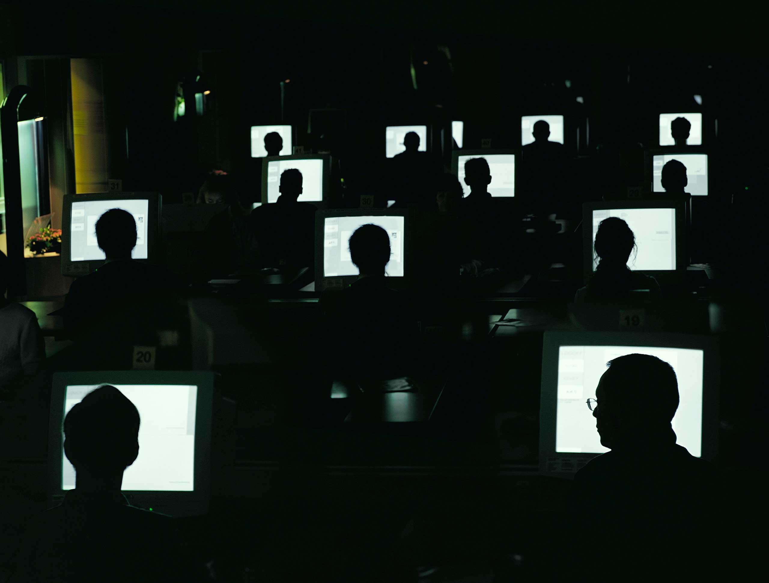 Computer Hacker Spy