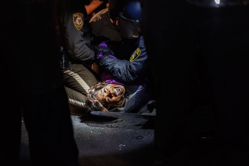 Ferguson Police Protester Dasha Jones