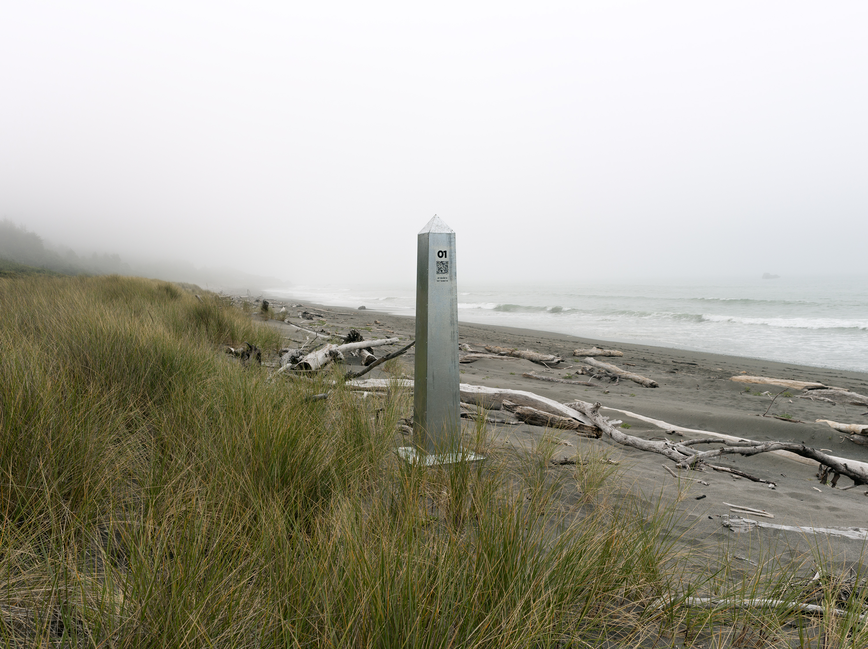 Monument 1, Pacific Coast, South of Brookings, Oregon