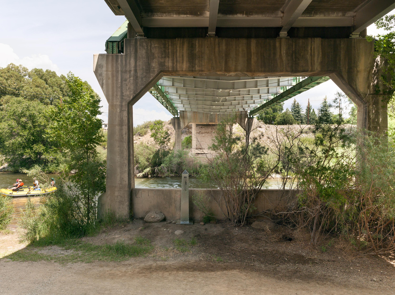 Monument 23, Arkansas River near Salida, Colorado