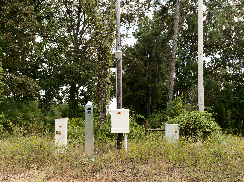 Monument 40, east of Vivian, Louisiana.