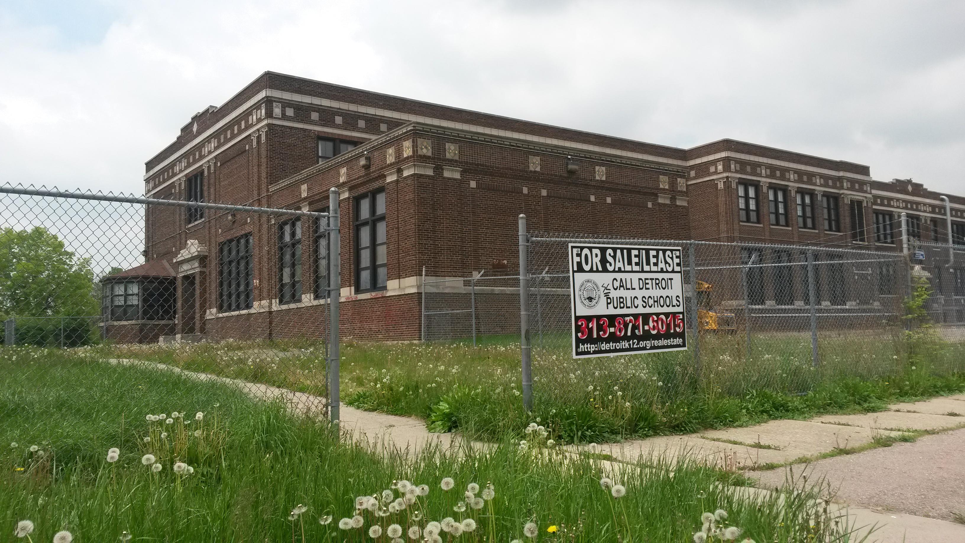 Detroit Public Schools has closed more than 80 schools due to severe drops in enrollment.