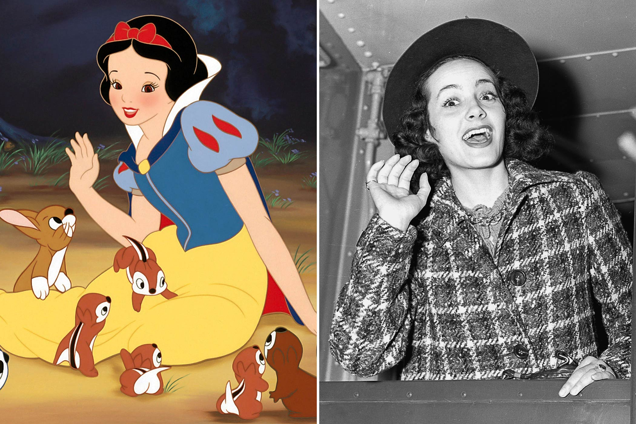 "<strong>Snow White: Adriana Caselotti</strong>                                   More than 150 girls had already auditioned for the role of Snow White before Adriana Caselotti was chosen to voice the first Disney princess. She recalled in 1987, ""I'd never worked in show business before (Snow White). I feel very blessed. Not everyone gets the chance to be part of a genuine classic like Snow White."" Caselotti would also be inducted into the Disney Legends in 1994."