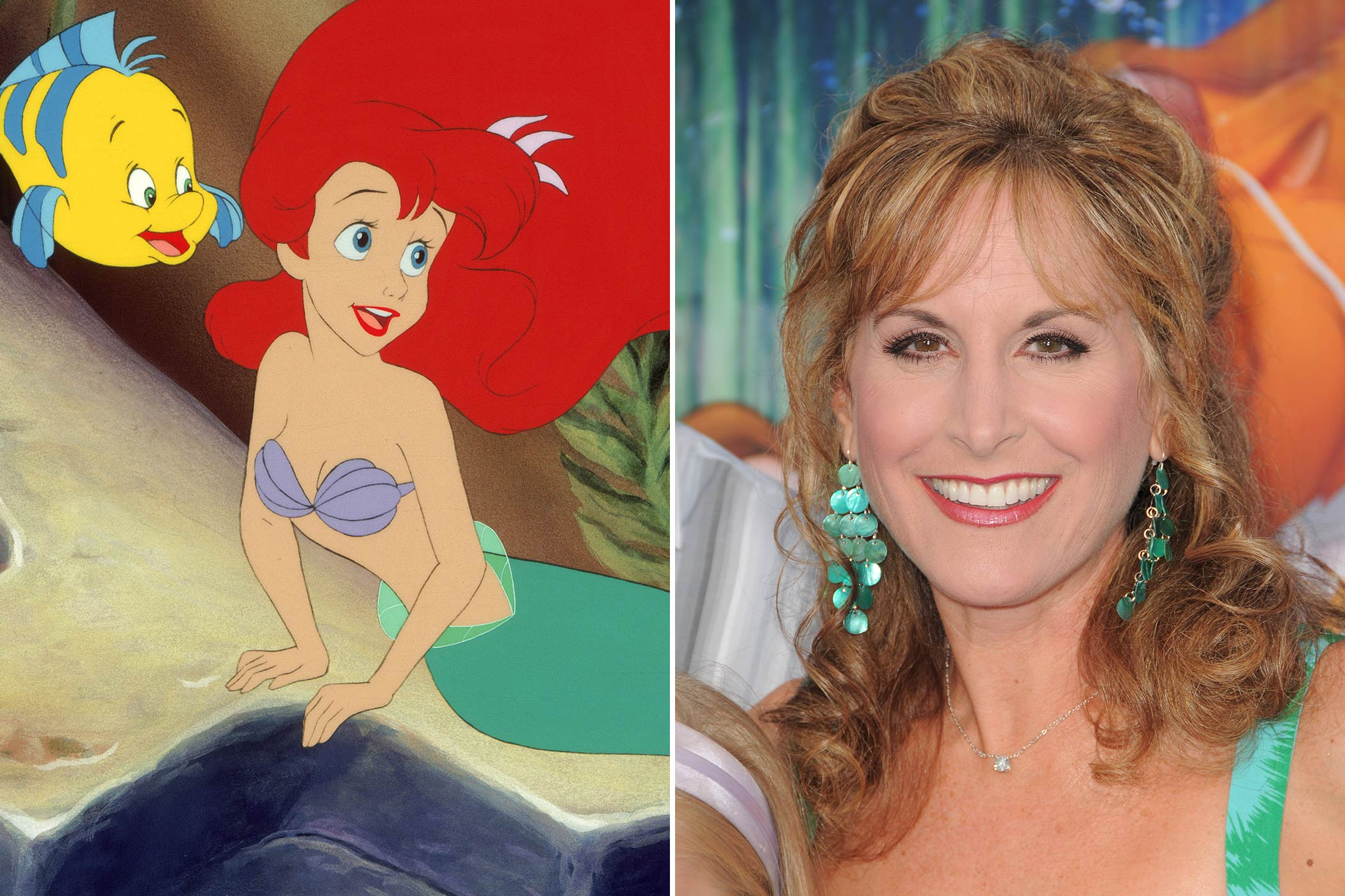 <strong>Ariel: Jodi Benson</strong>                                   Jodi Benson's goal was always to make it to Broadway, but along the way she beat out over 500 other actresses to become the voice of Ariel. She was also the voice of Barbie in Pixar's <i>Toy Story 2</i> and <i>Toy Story 3</i> and also became a Disney Legend in 2011.
