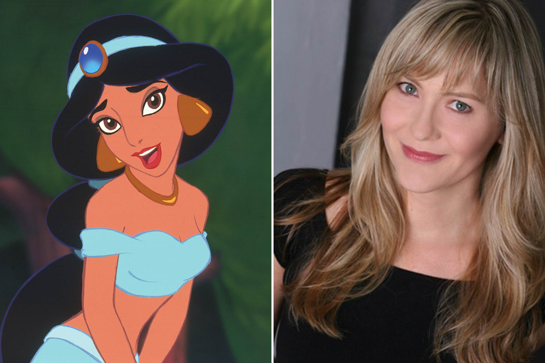 "<strong>Jasmine: Linda Larkin</strong>                                   ""Aladdin was my first big job, and it definitely opened a lot of doors for me,"" Larkin once said. ""I think being the voice of Princess Jasmine has given me an extra advantage in getting some of the jobs I've had—although sometimes they find out about me being Princess Jasmine after they've hired me, and that's always fun!"" She would continue her acting career on TV series such as <i>Wings</i> and <i>Law &amp; Order: Criminal Intent</i> and was honored as a Disney Legend in 2011."