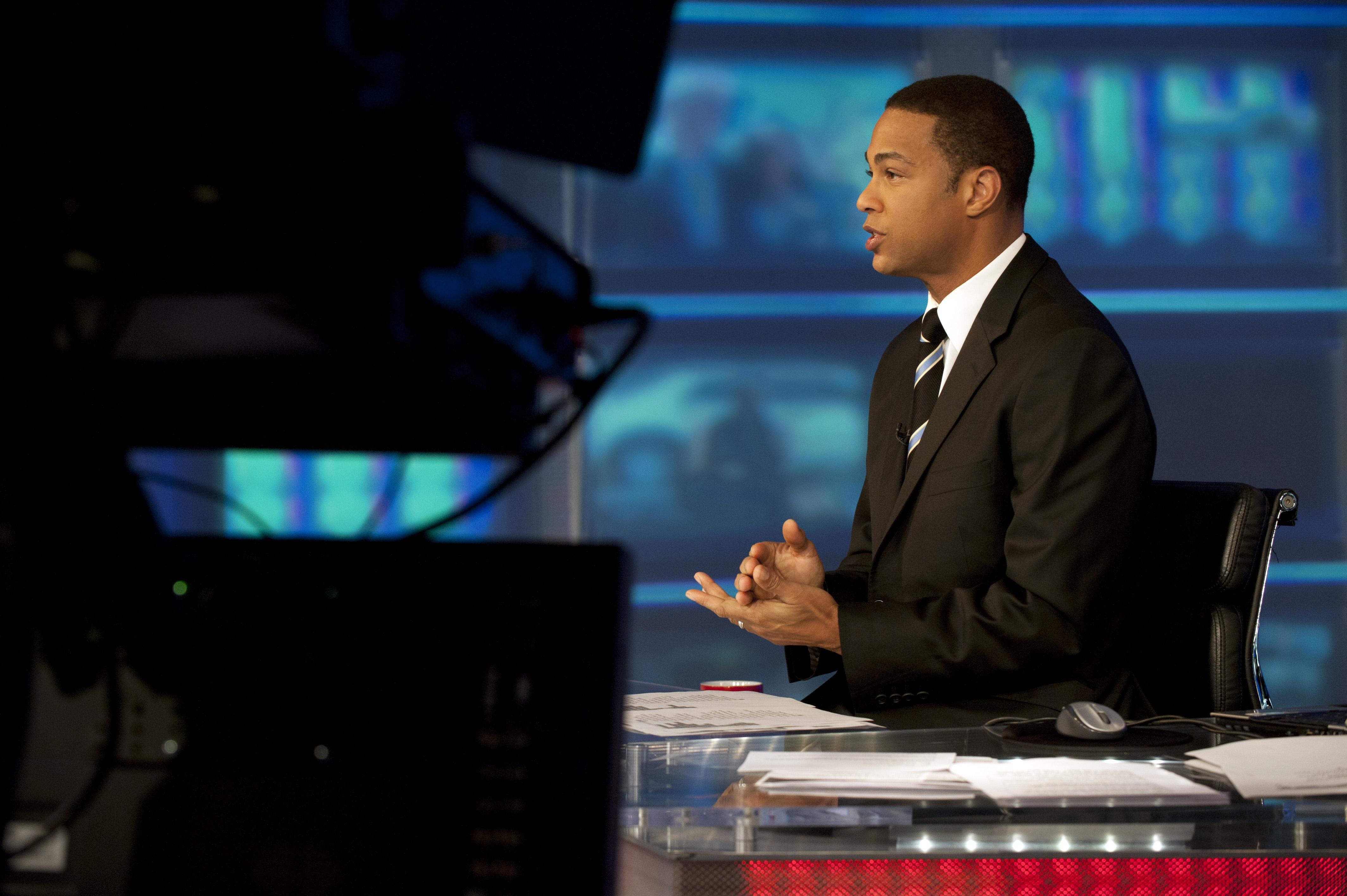Don Lemon in weekend anchor spot at CNN.