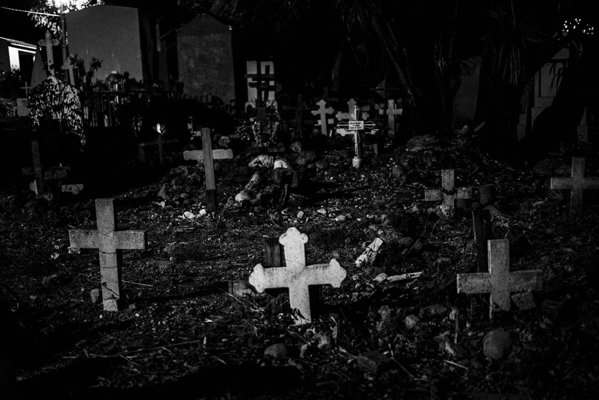The main cemetery in Chilpancingo, the capital and second-largest city of the state of Guerrero, Mexico, where many of the victims of Mexico's drug war are buried.