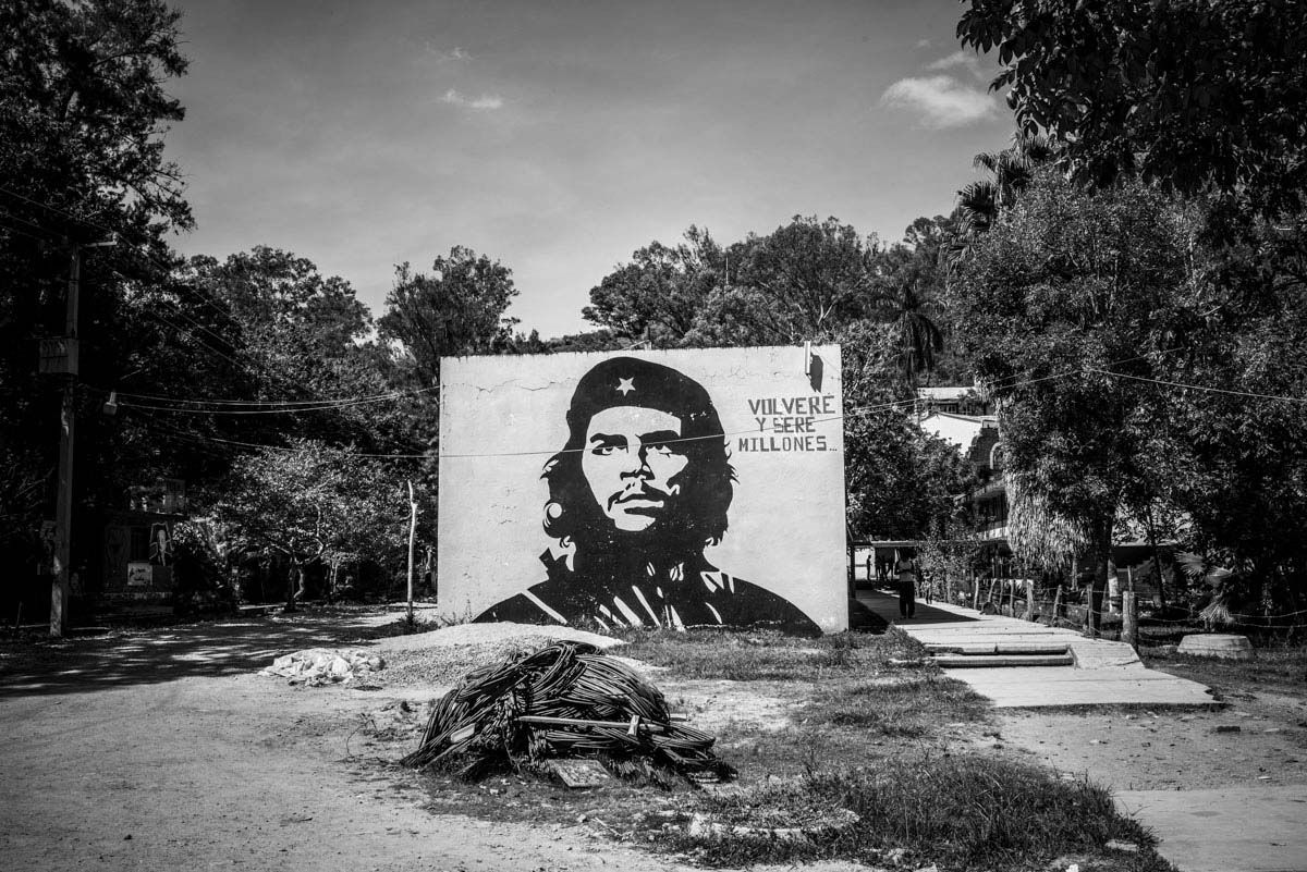 Ayotzinapa University, a rural school founded after the revolution to bring literacy to the countryside, is steeped in a radical leftist                                   tradition, with murals of the revolutionary Che Guevara adorning the campus. On Sept. 26, about 120 of Ayotzinapa's teacher trainees went to Iguala to hijack buses to travel to Mexico City, where they hoped to commemorate a massacre of                                   students back in 1968. After taking two vehicles, they ran into a blockade of police officers, who began firing at them. The corrupt police and cartel thugs then kidnapped 43 students who are now feared dead.